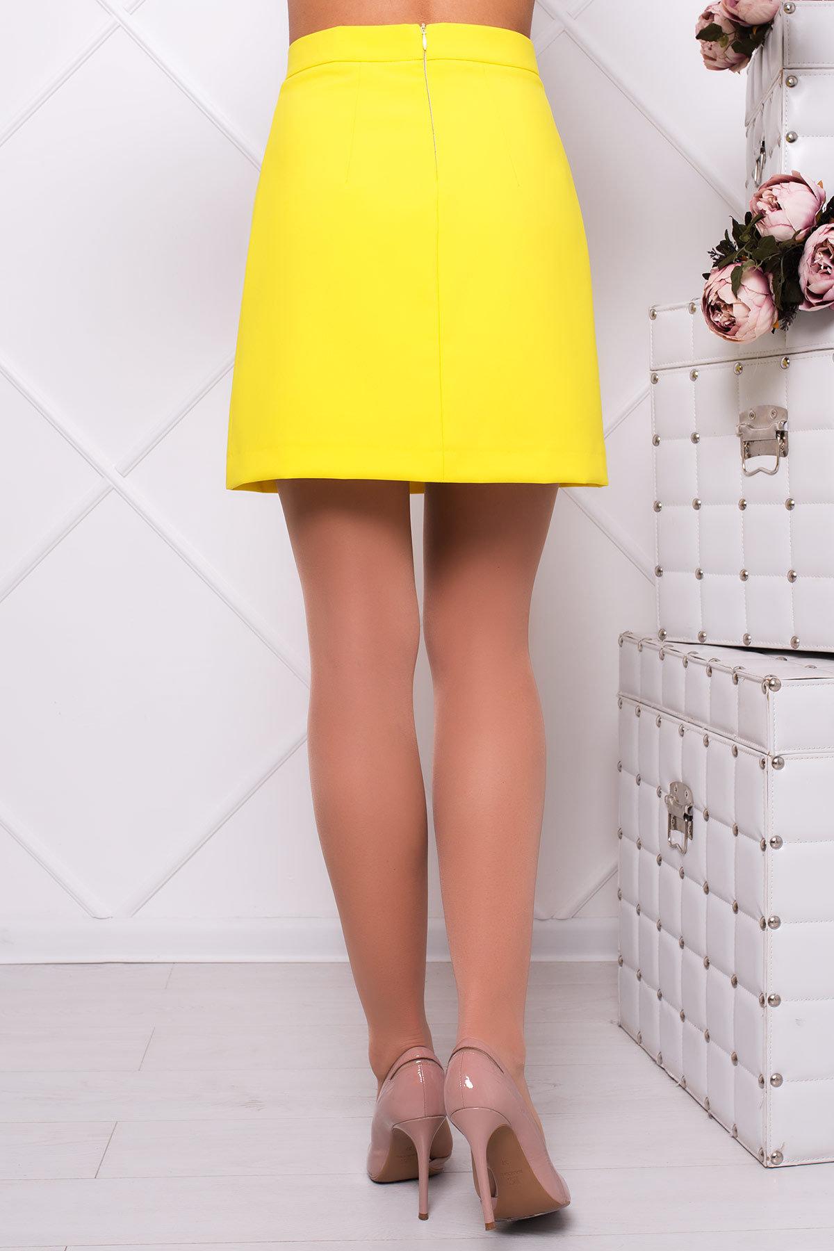 Юбка Рона 2762 Цвет: Желтый