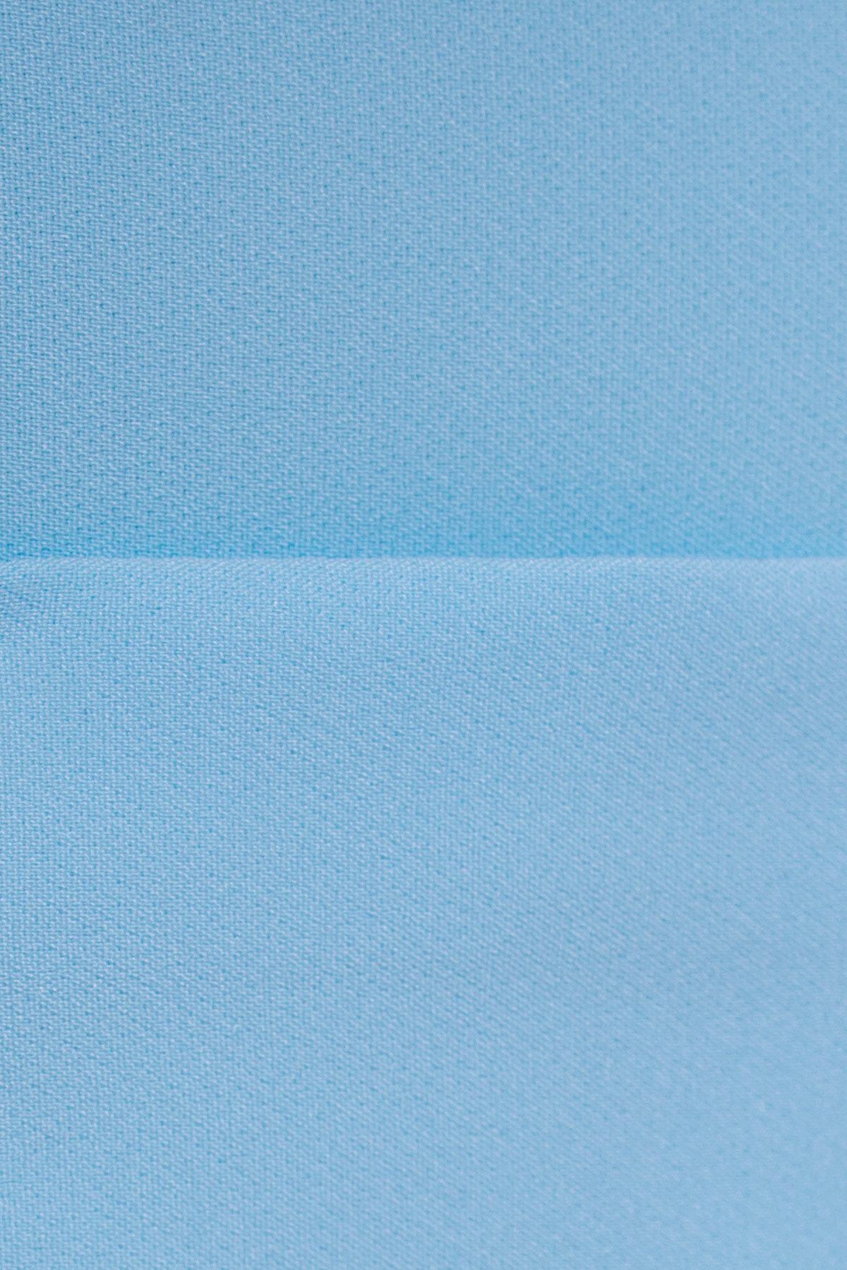 Юбка Рона 2762 АРТ. 15173 Цвет: Голубой - фото 4, интернет магазин tm-modus.ru