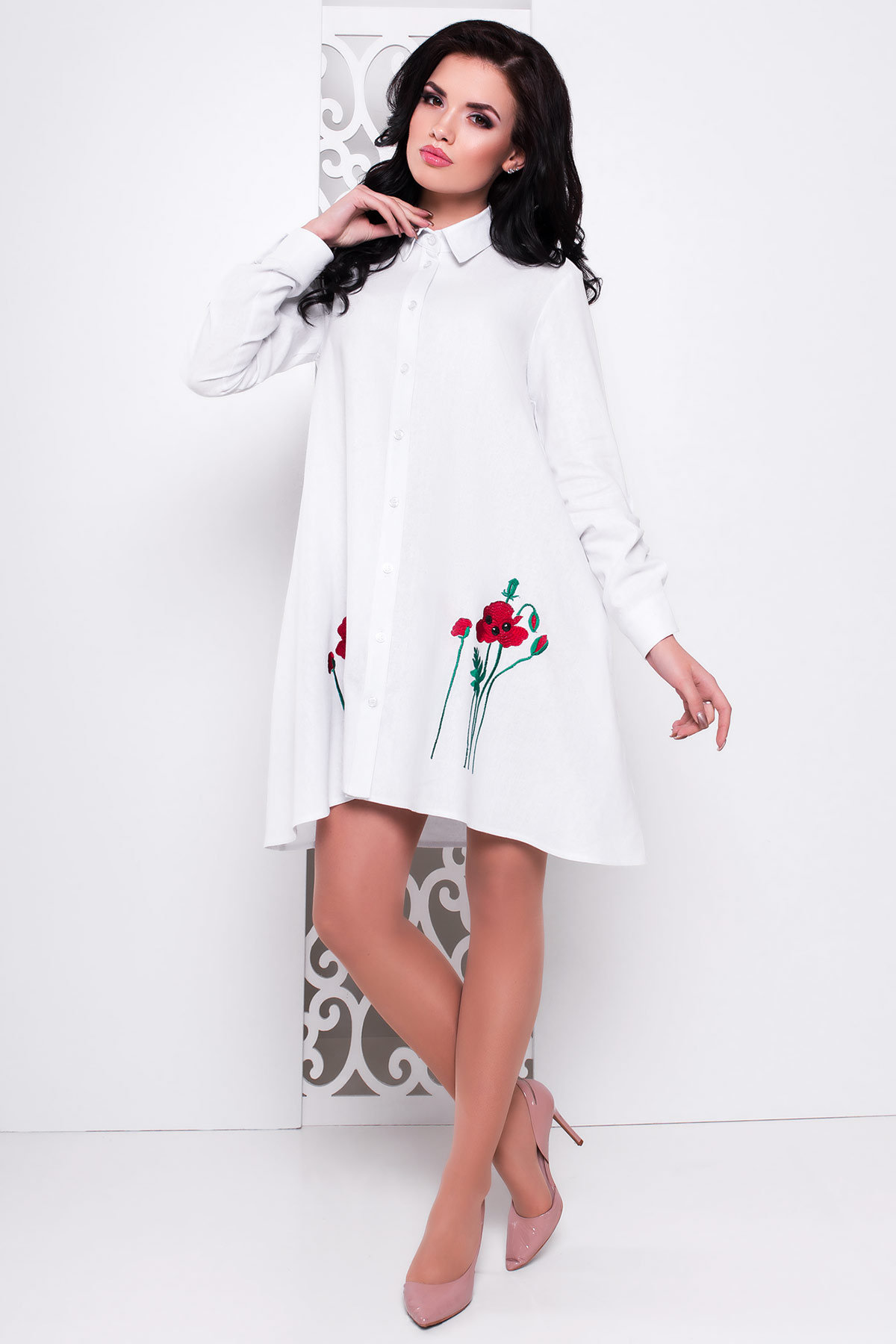 Купить трикотажные платья осенние