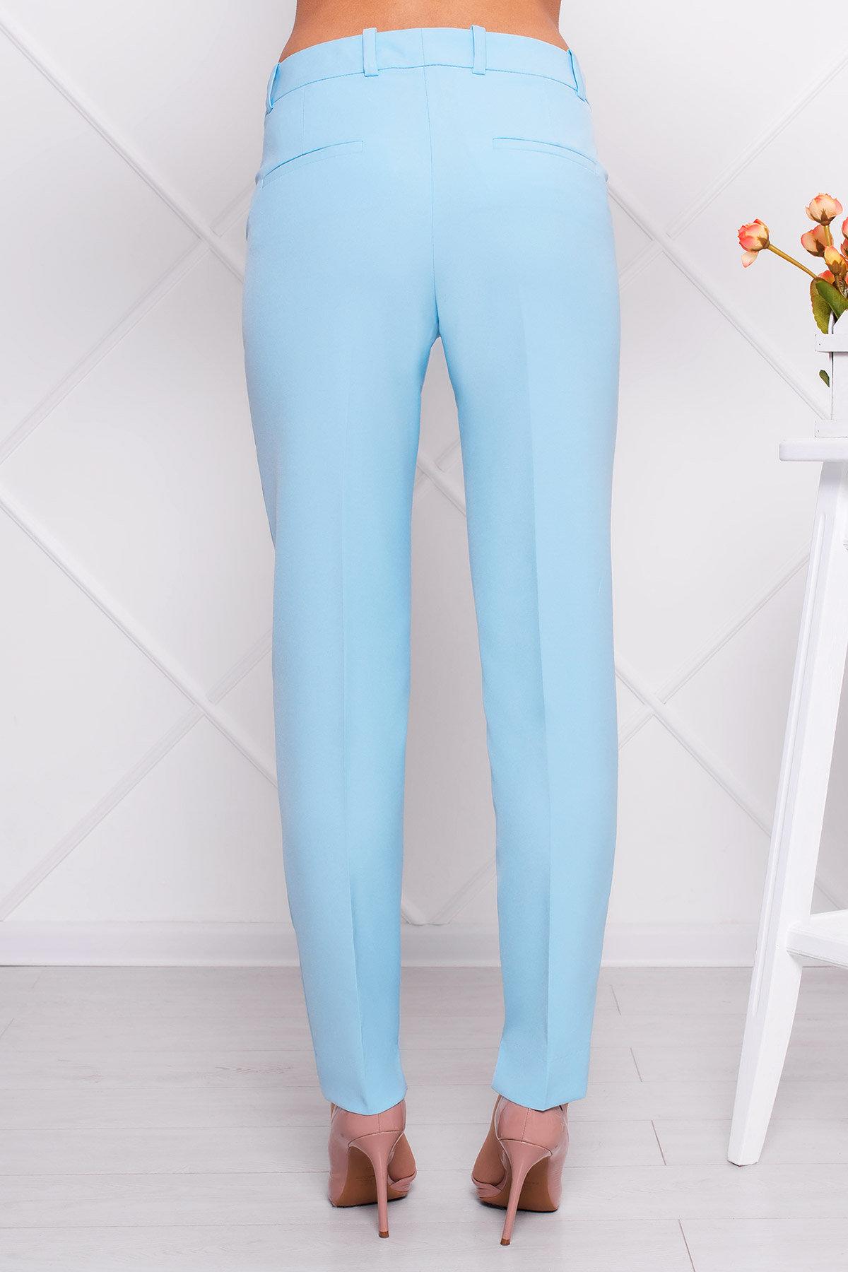 Базовые брюки со стрелками Эдвин 2467 АРТ. 14912 Цвет: Голубой - фото 2, интернет магазин tm-modus.ru