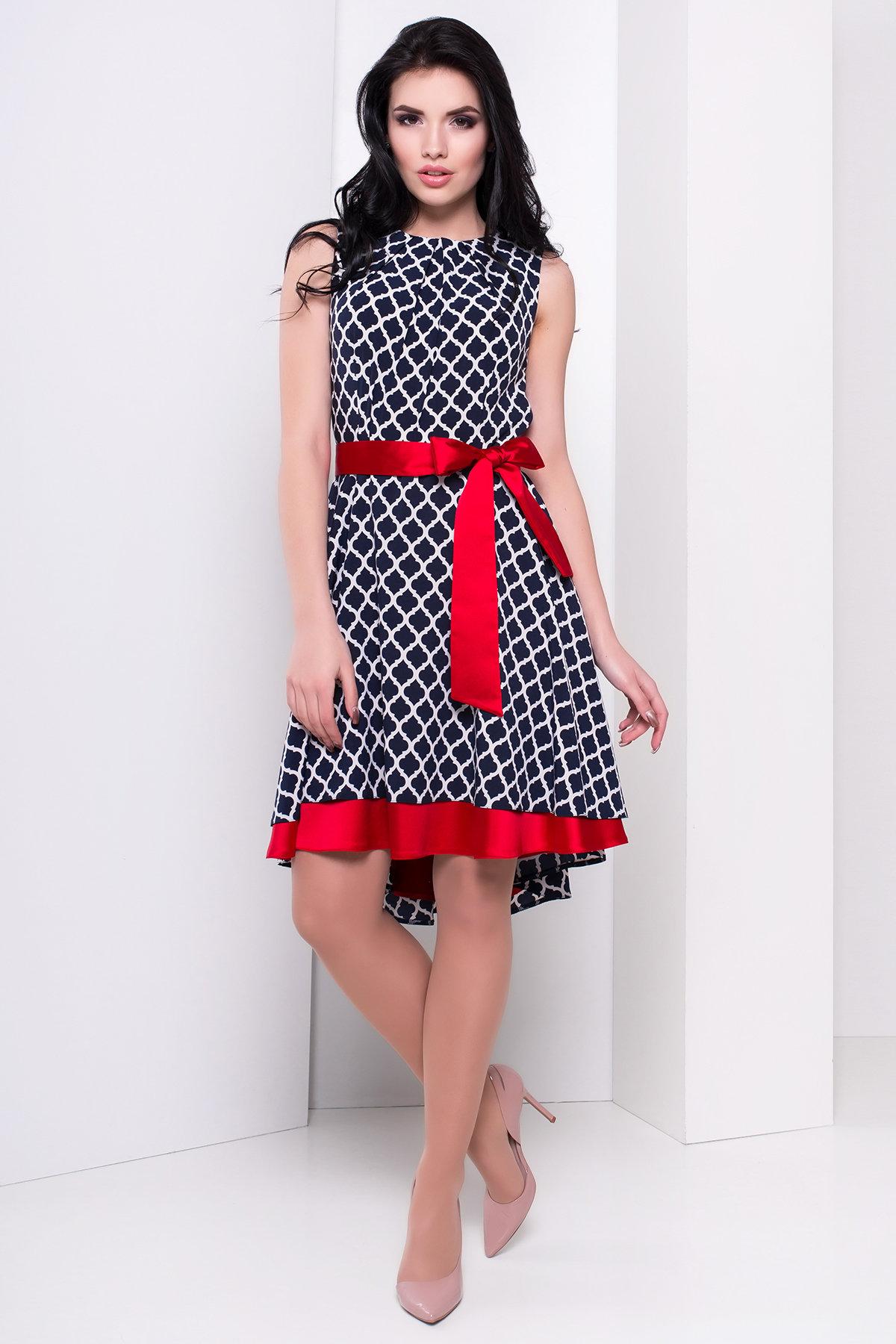 Купить женское трикотажное платье оптом Платье Нимфа 244