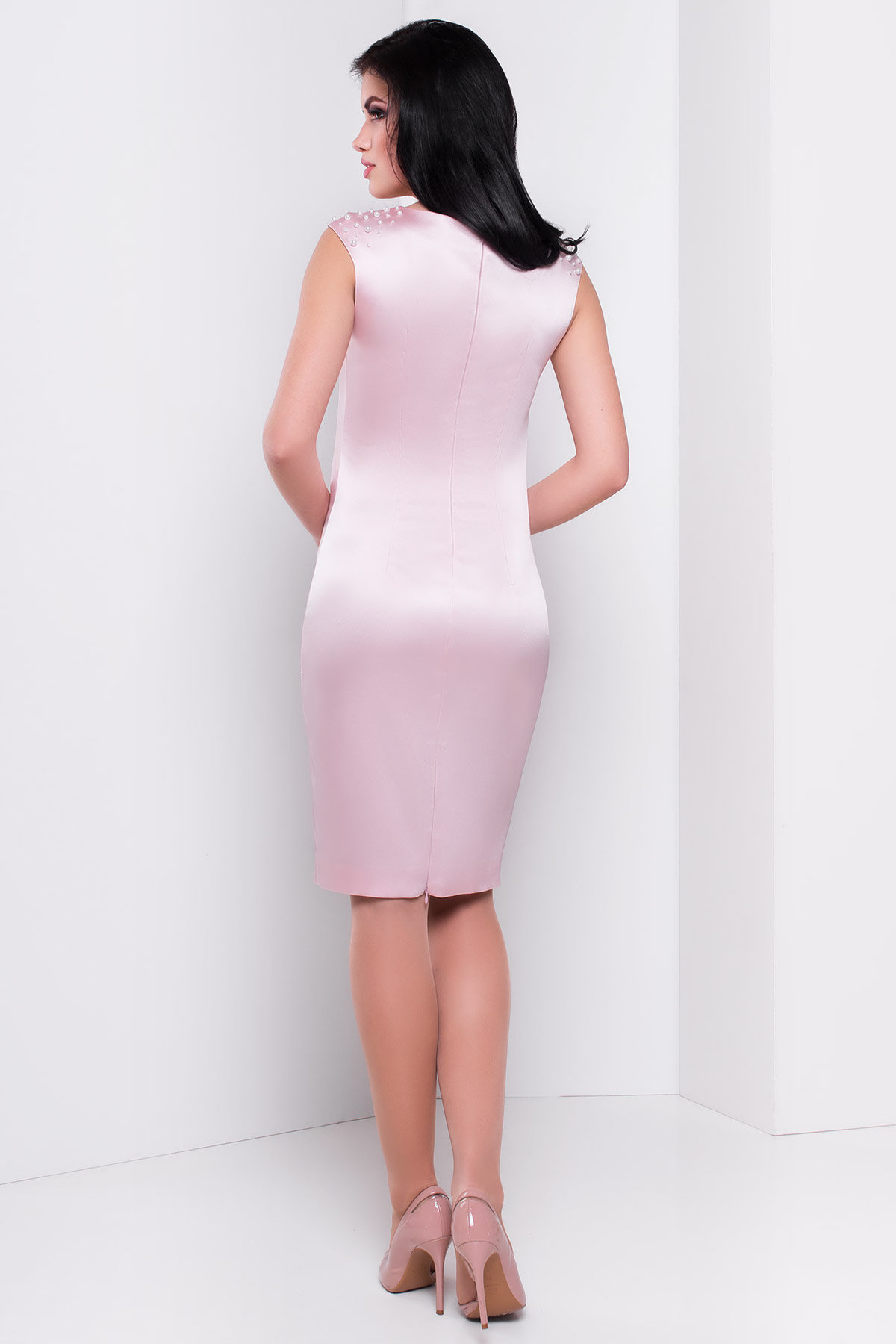 Платье Дарина 2964 АРТ. 15459 Цвет: Розовый - фото 2, интернет магазин tm-modus.ru