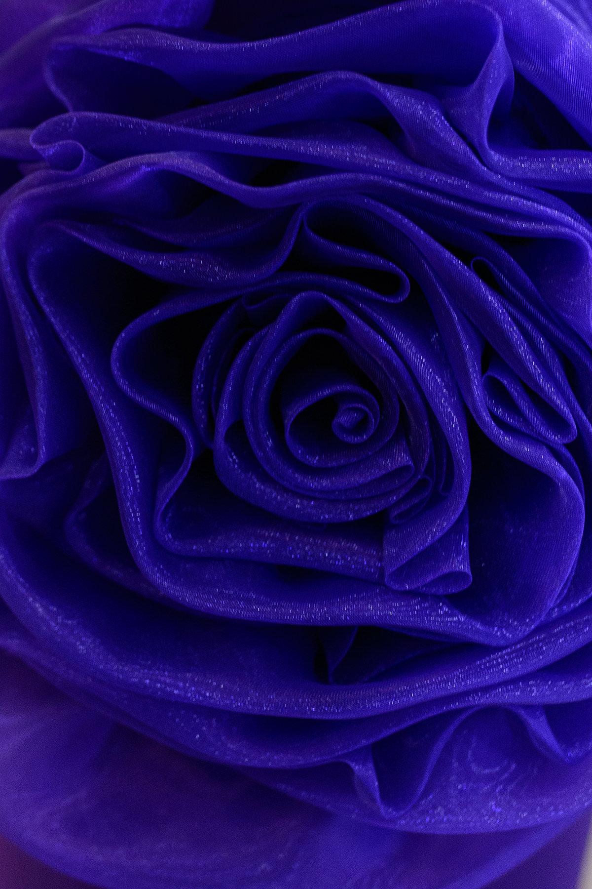 Платье Претти 409 АРТ. 6713 Цвет: Тёмный-фиолет - фото 3, интернет магазин tm-modus.ru