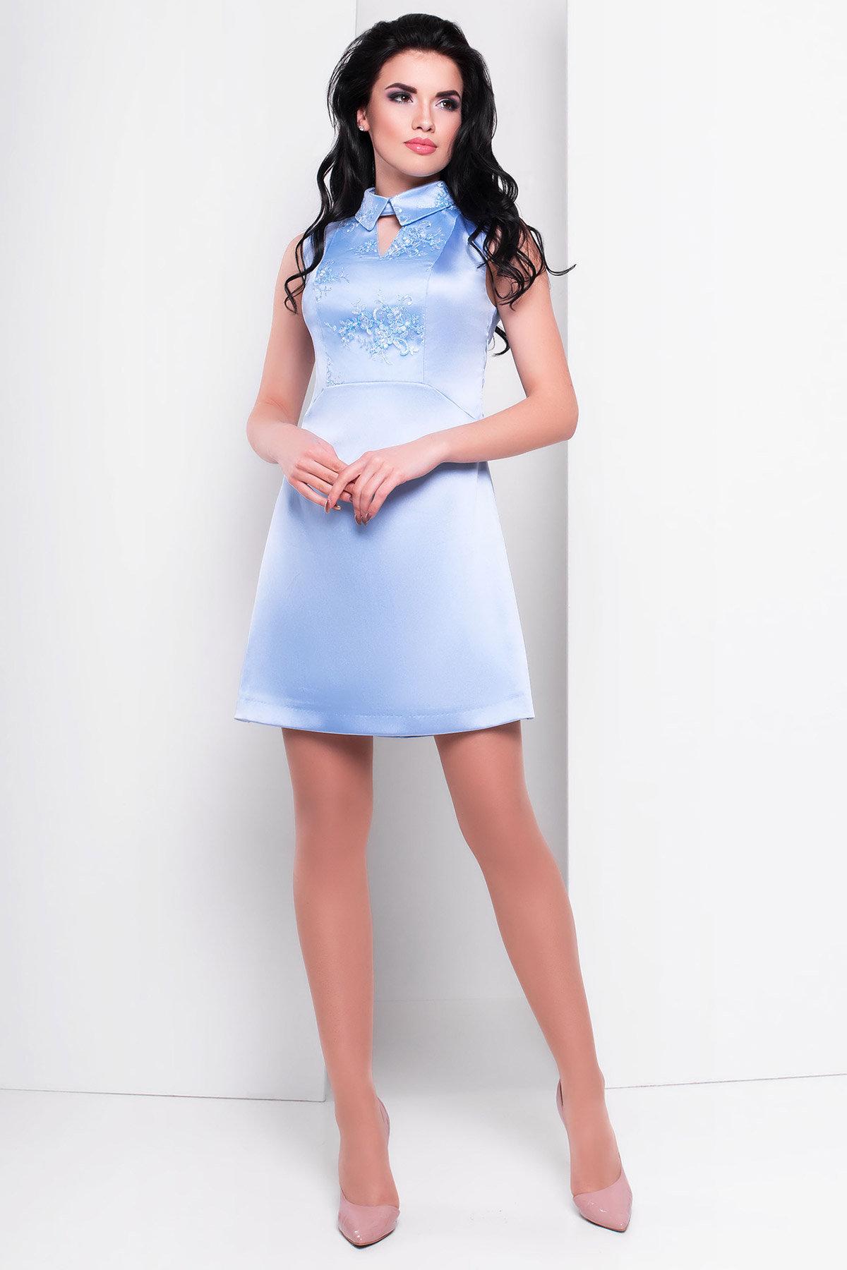 Купить оптом трикотажные платья в Украине Платье Виндроуз 2919