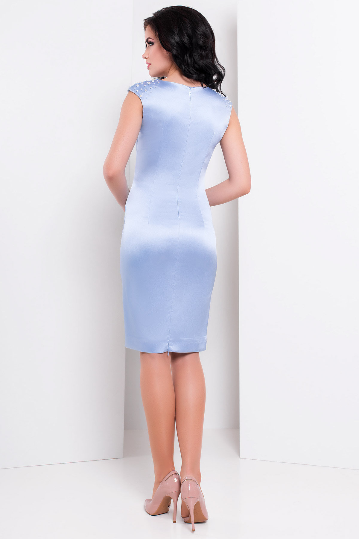 Платье Дарина 2964 Цвет: Голубой