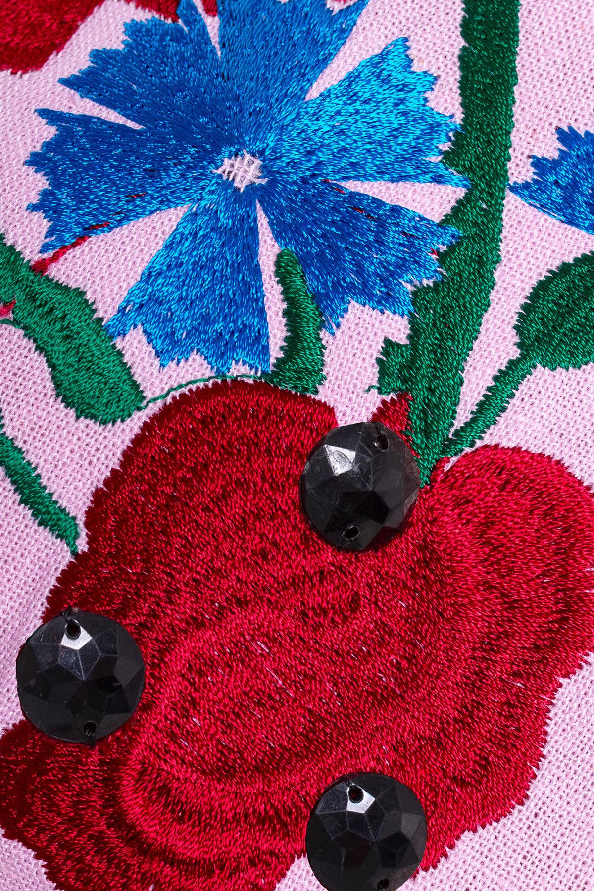 Платье Гавана 3033 АРТ. 15835 Цвет: Розовый - фото 3, интернет магазин tm-modus.ru