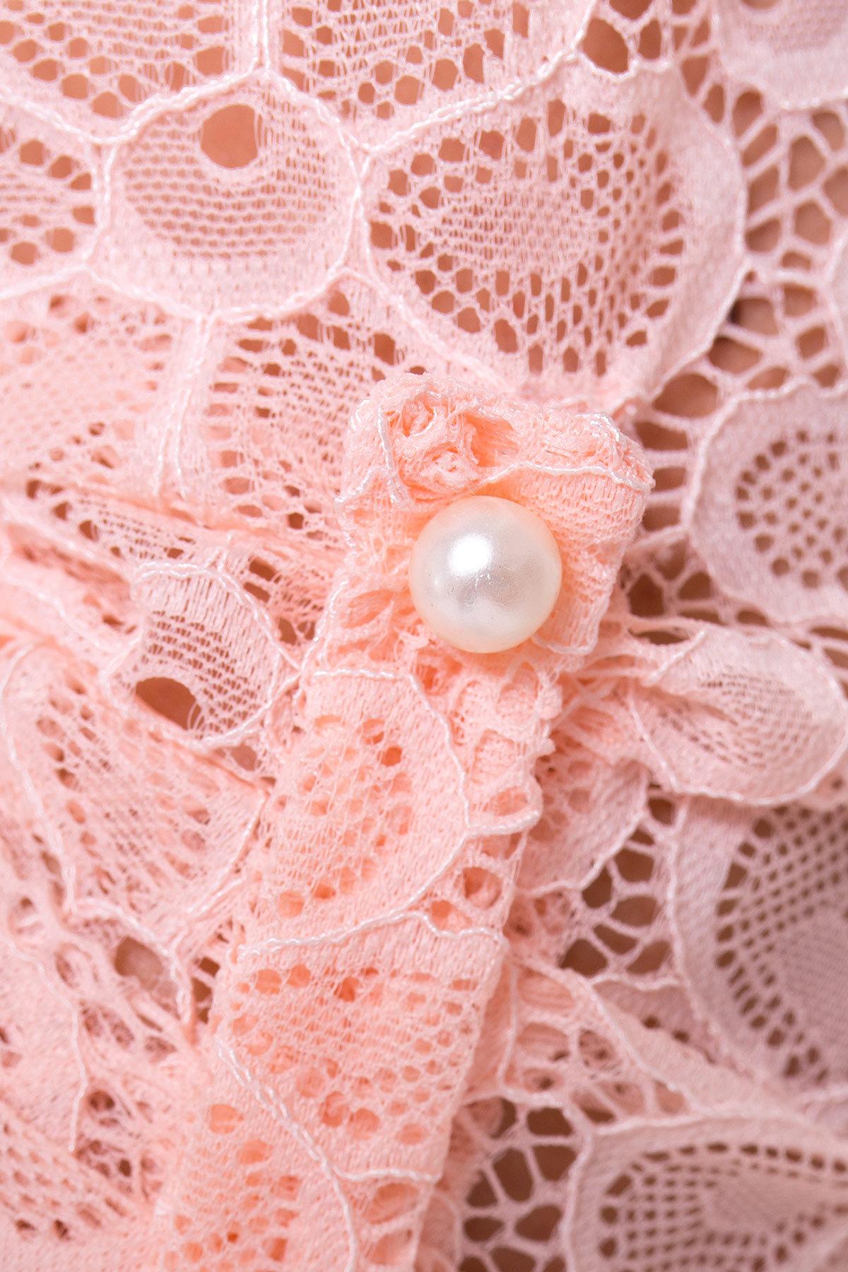 Блуза Асти 2893 АРТ. 15169 Цвет: Персик - фото 3, интернет магазин tm-modus.ru