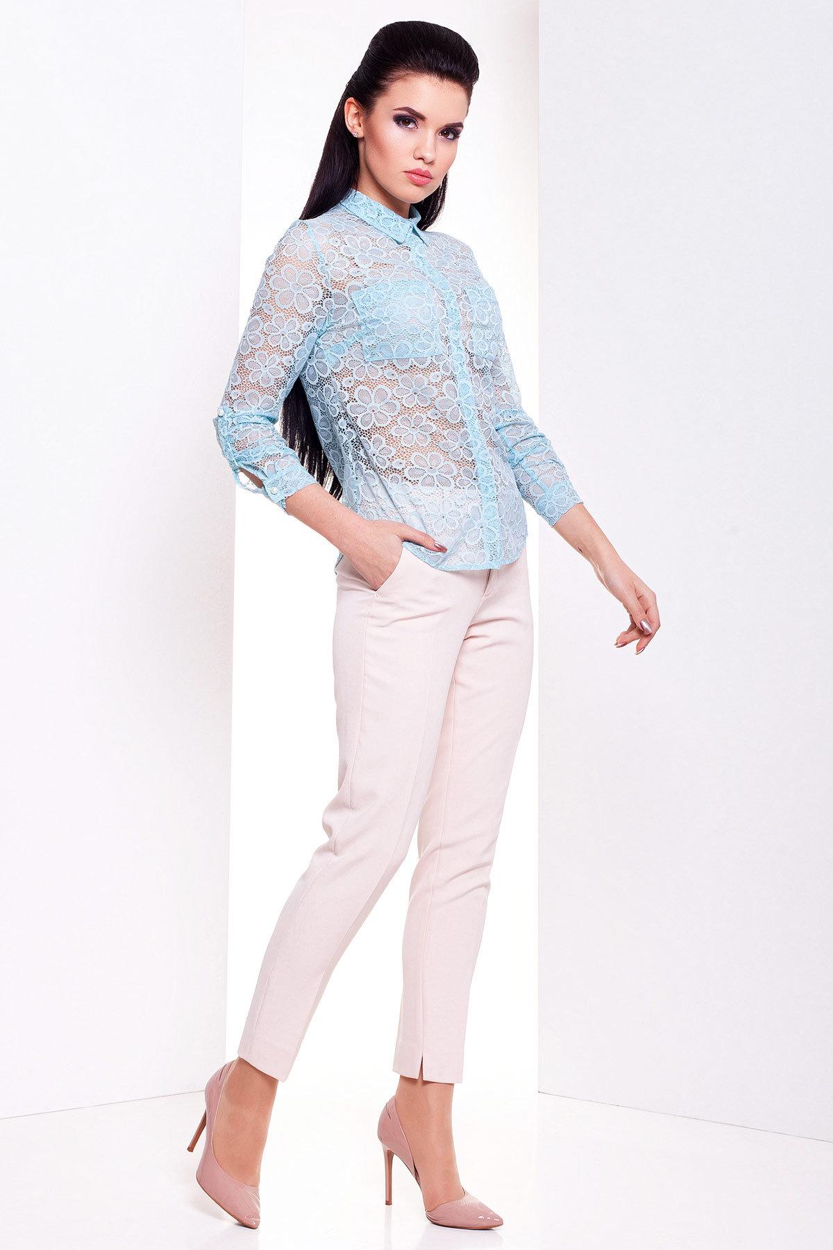 Блуза Асти 2893 АРТ. 15170 Цвет: Мята  - фото 2, интернет магазин tm-modus.ru