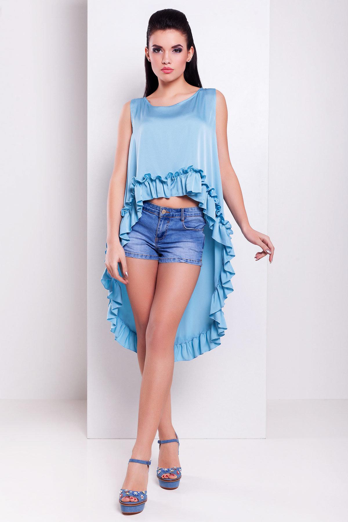 Блуза Дезири 2744  Цвет: Голубой