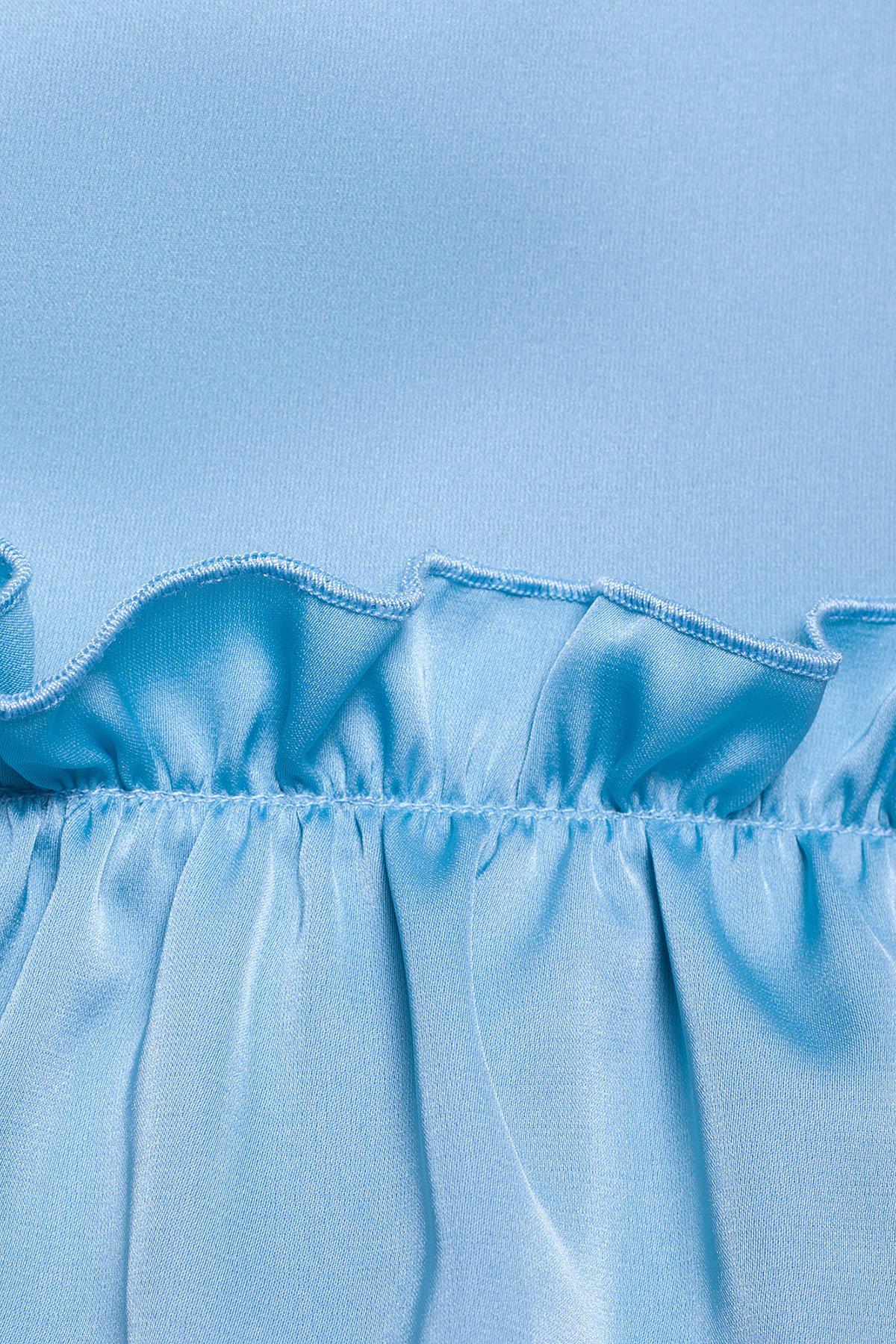 Блуза Дезири 2744  АРТ. 14738 Цвет: Голубой - фото 3, интернет магазин tm-modus.ru