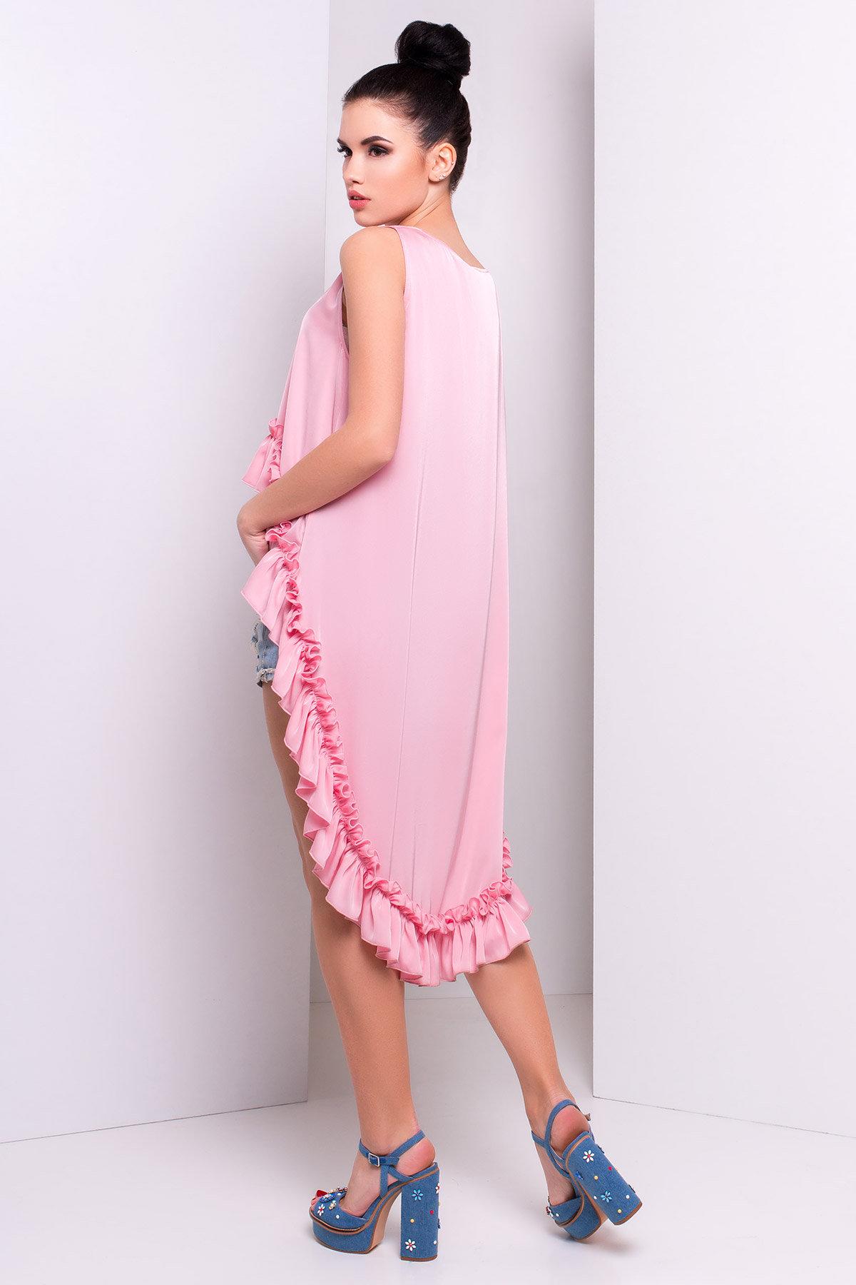 Блуза Дезири 2744  АРТ. 14740 Цвет: Розовый - фото 2, интернет магазин tm-modus.ru