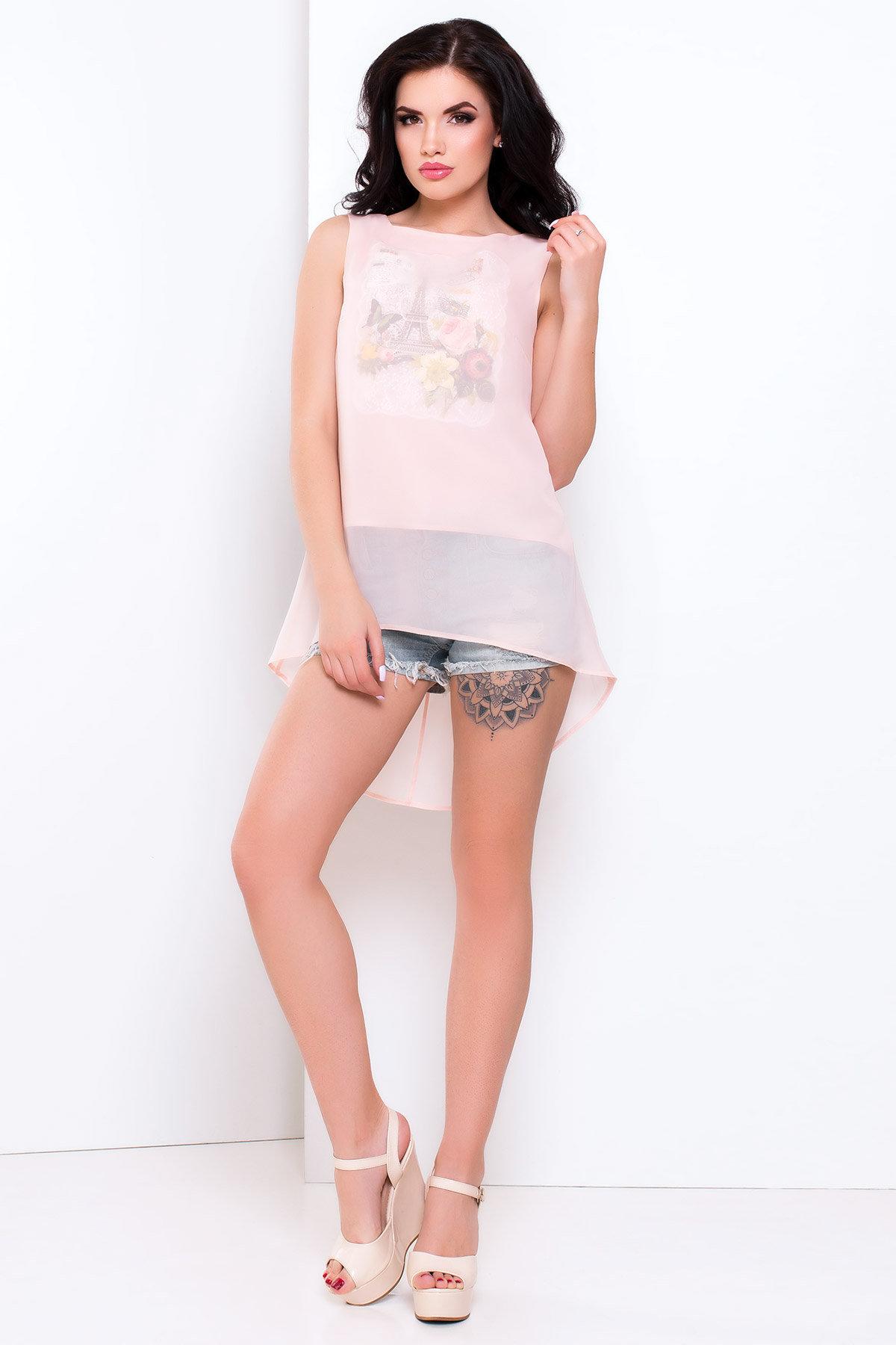 Женские рубашки оптом от производителя Блуза Фредо 3014