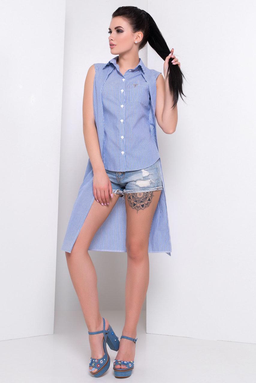 Школьные блузы оптом от производителя Рубашка Элизе 3074