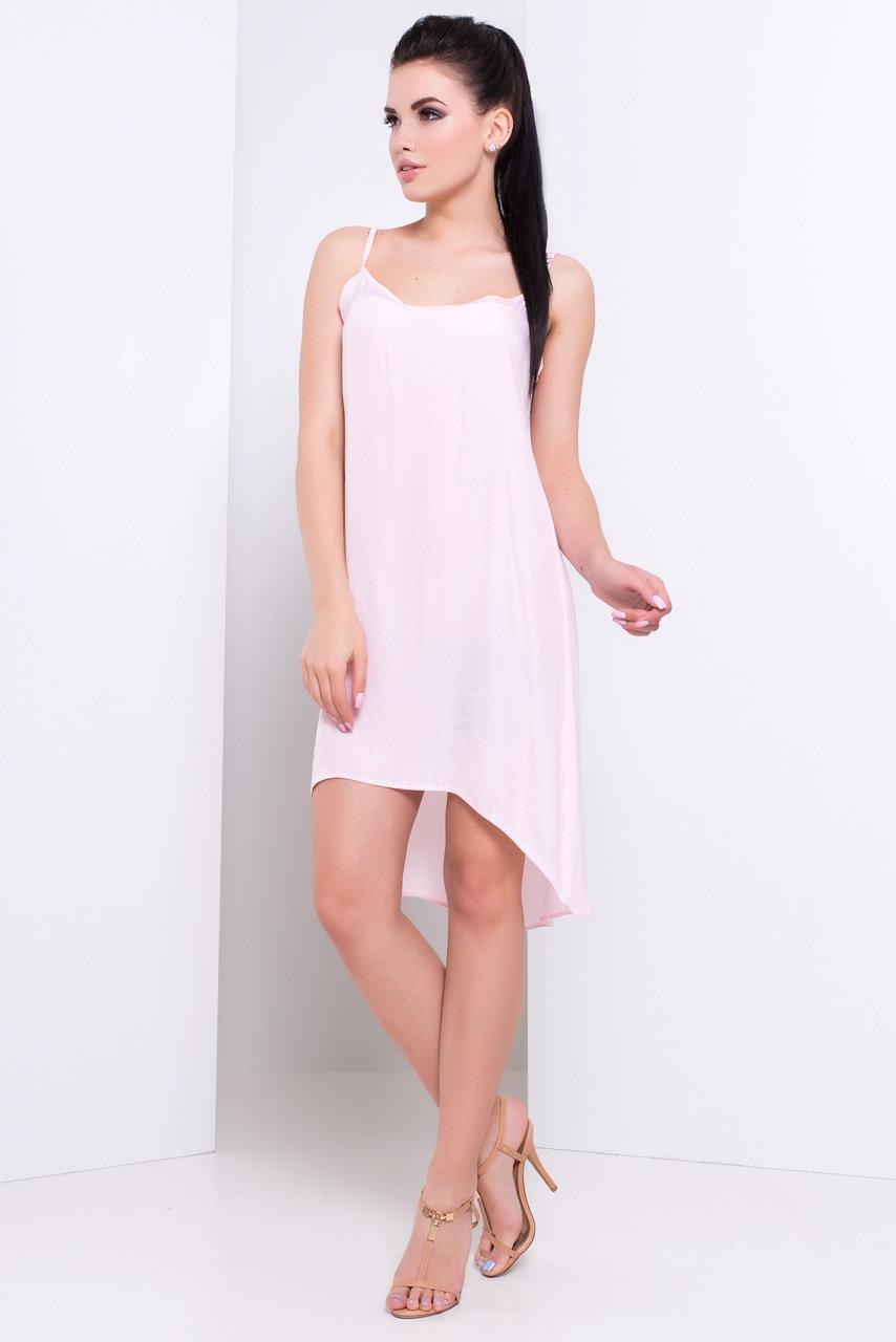 Платье Симпл 3078 Цвет: Светло - розовый