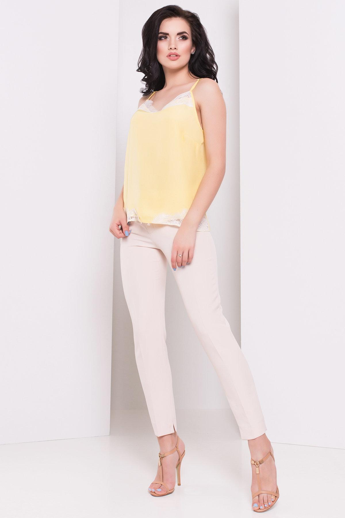 Блуза-топ Беатрис 3160 Цвет: Желтый