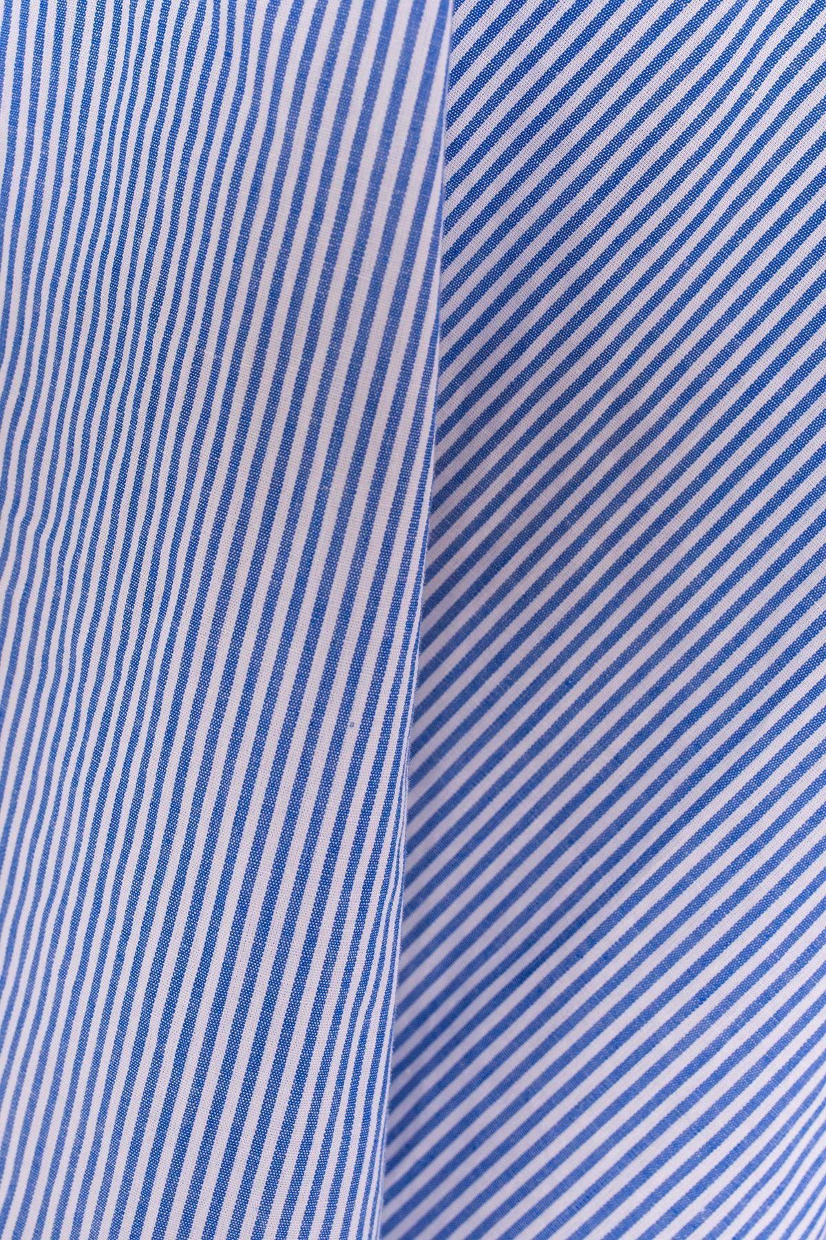 Блуза Арина 3154 АРТ. 16300 Цвет: Синий/белая полоска   - фото 2, интернет магазин tm-modus.ru
