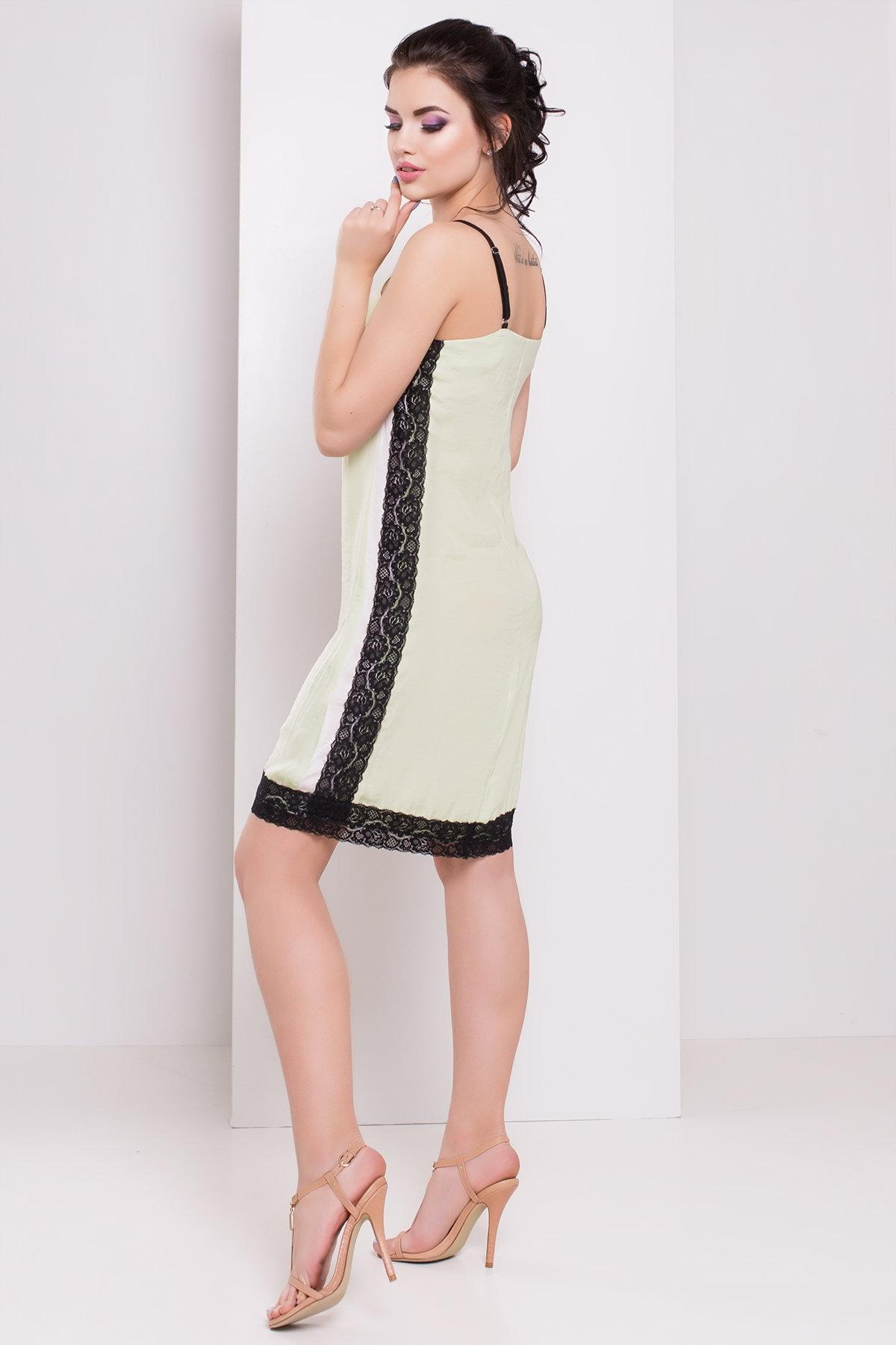 Платье Фелиса 3145 АРТ. 16228 Цвет: Яблоко - фото 2, интернет магазин tm-modus.ru