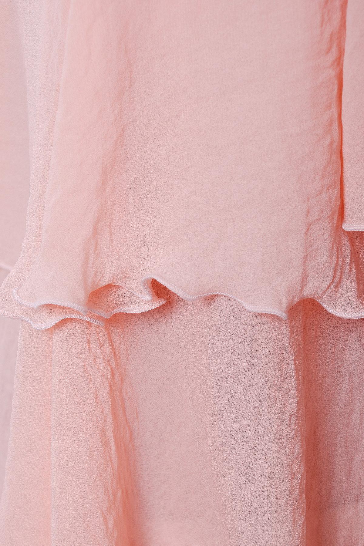 Блуза Юта 3096  АРТ. 16044 Цвет: Персик - фото 3, интернет магазин tm-modus.ru