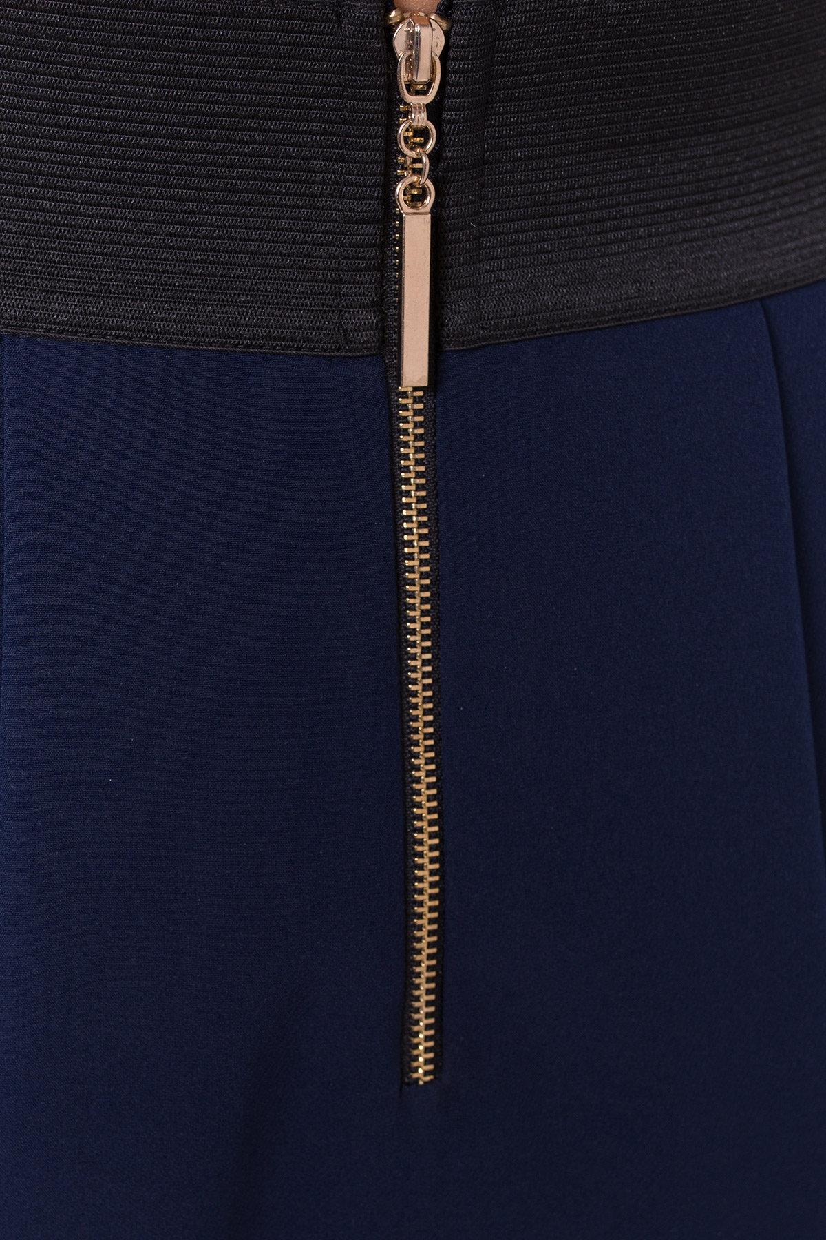 Юбка Хлое 3239 Цвет: Темно-синий
