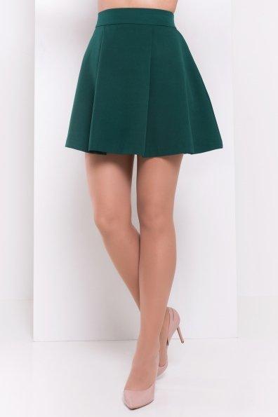 Юбка Хлое 3239 Цвет: Темно-зеленый