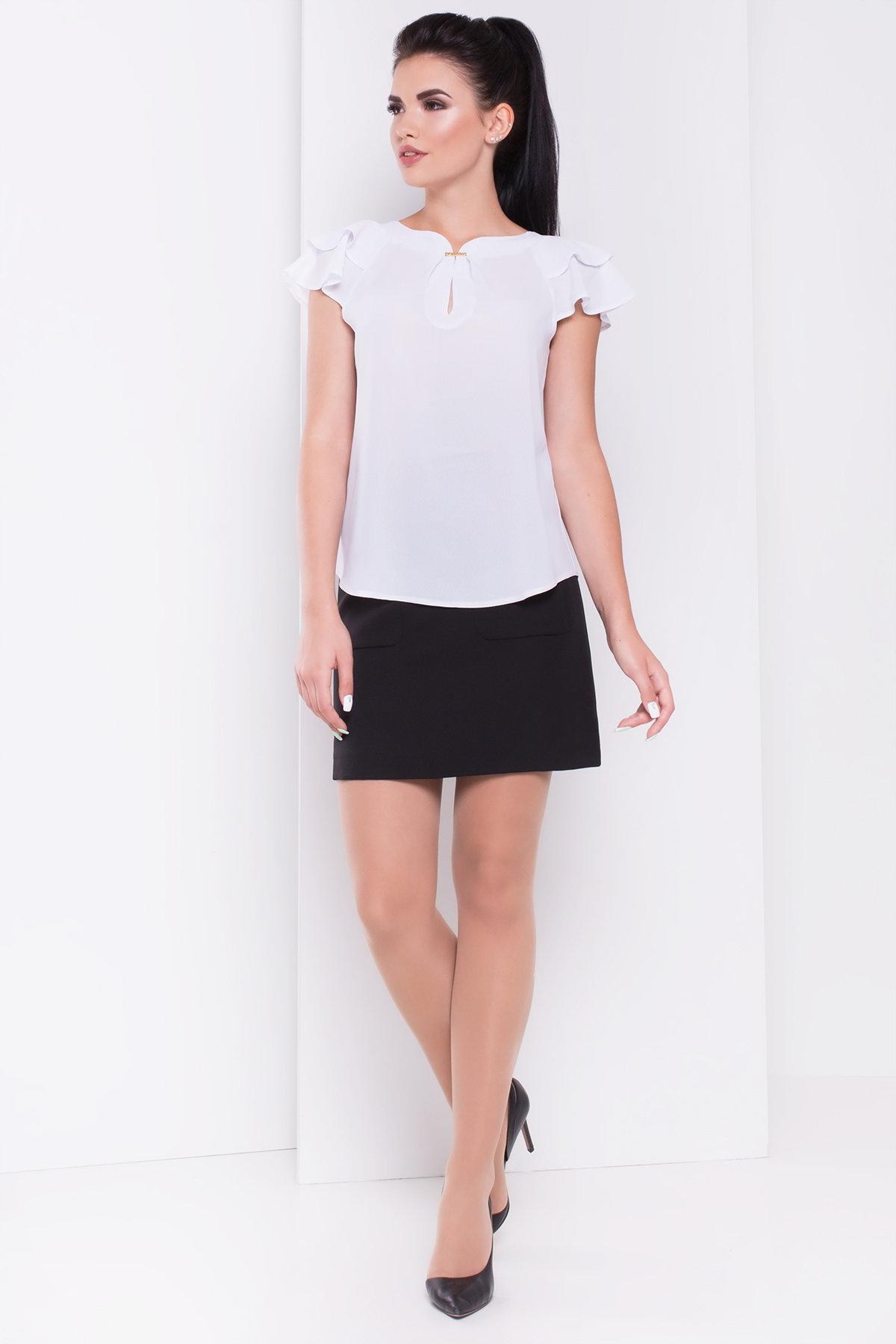 Женские рубашки оптом от Modus Блуза с воланами Инканто креп
