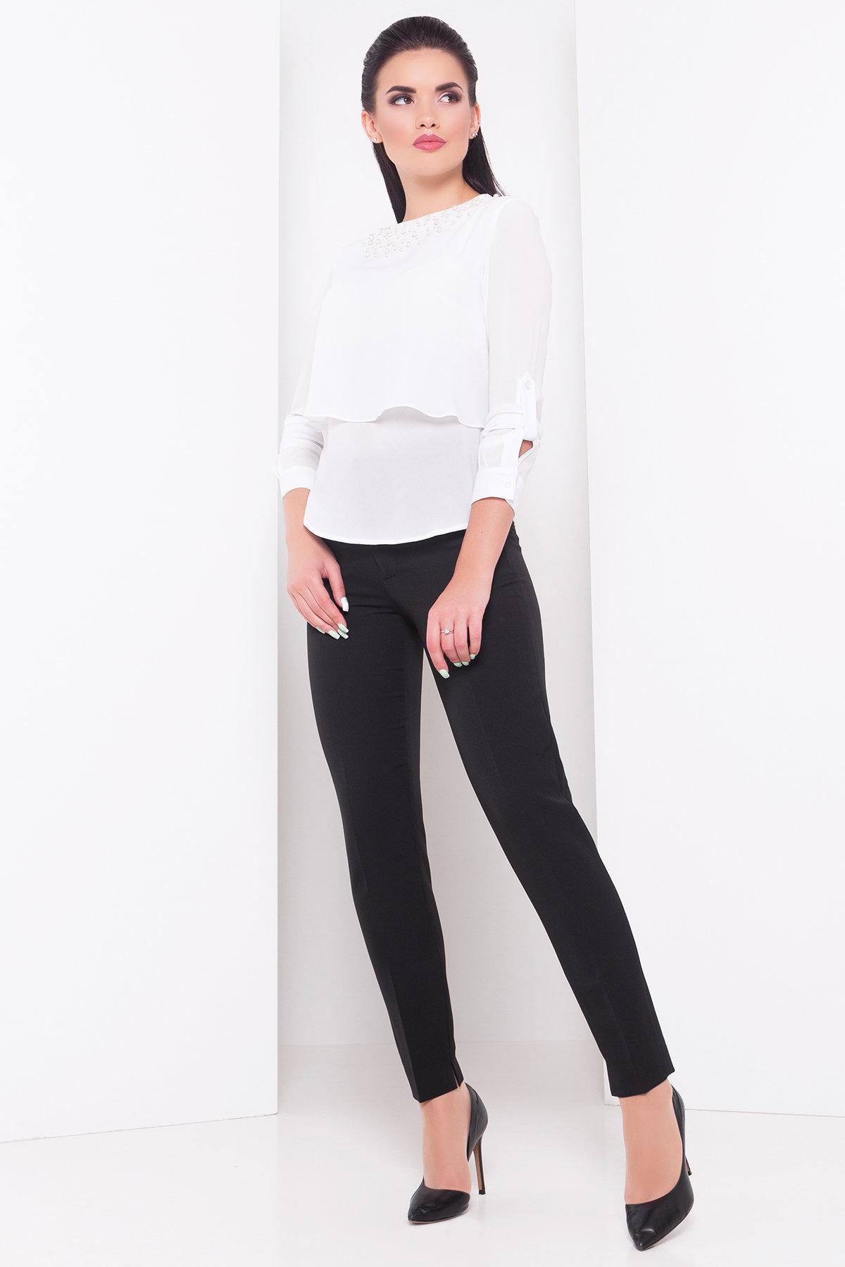 Белые блузки оптом от Modus Блуза Ноа 3261