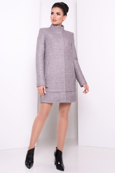 Пальто Фемел 3346 Цвет: Светло-серый