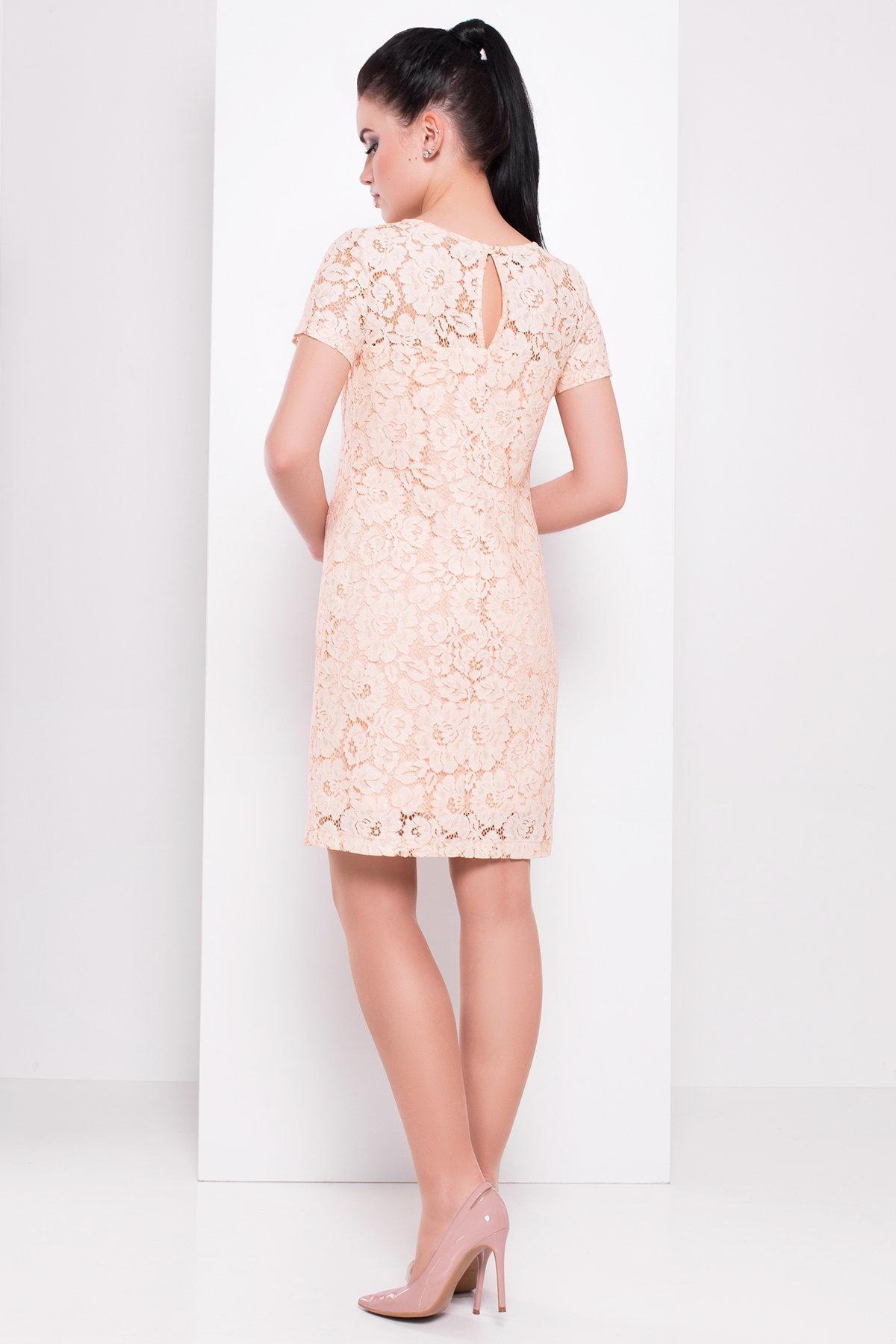 Платье Винтаж 3107 Цвет: Персик