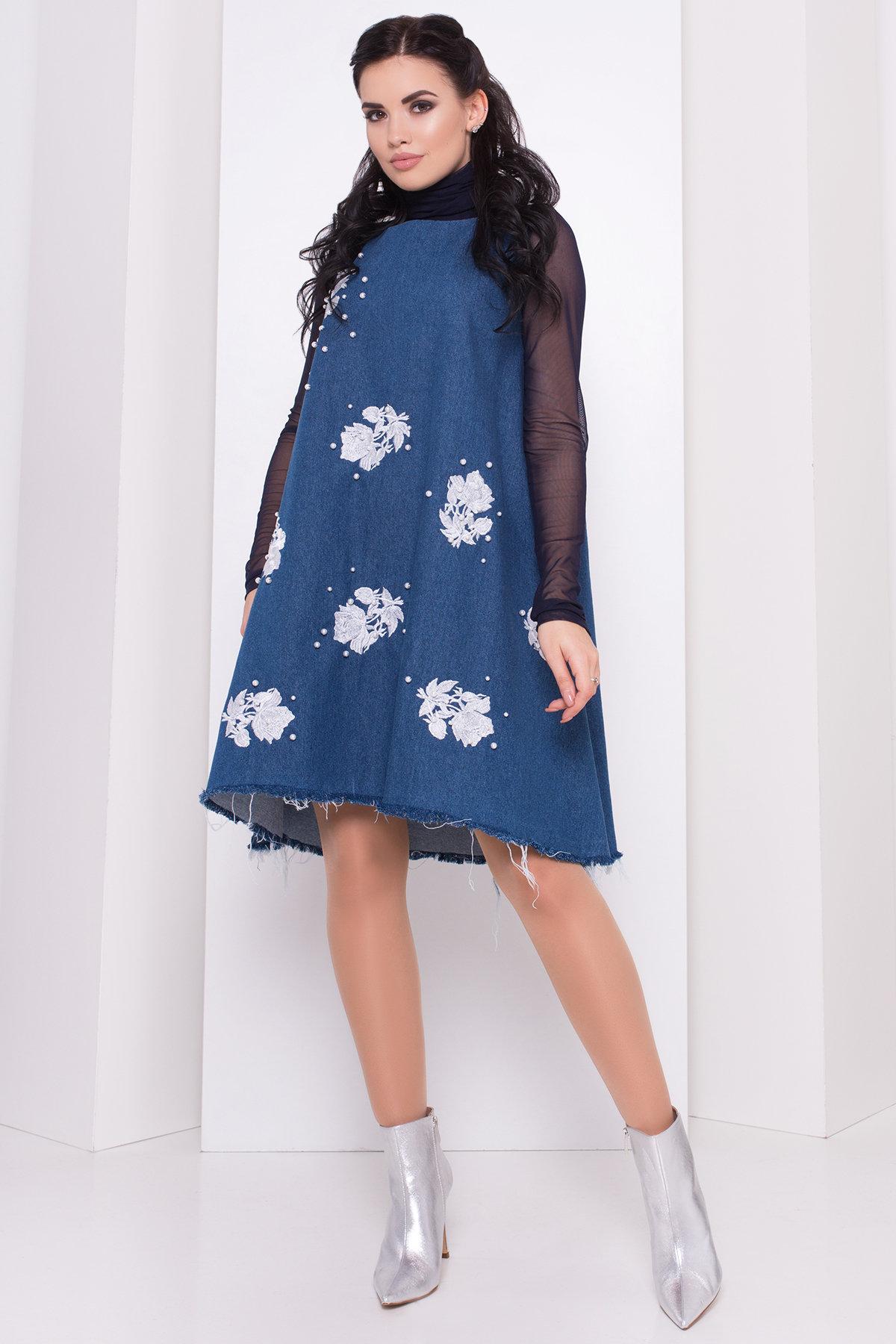 Купить оптом трикотажные платья в Украине Платье Индира 3404