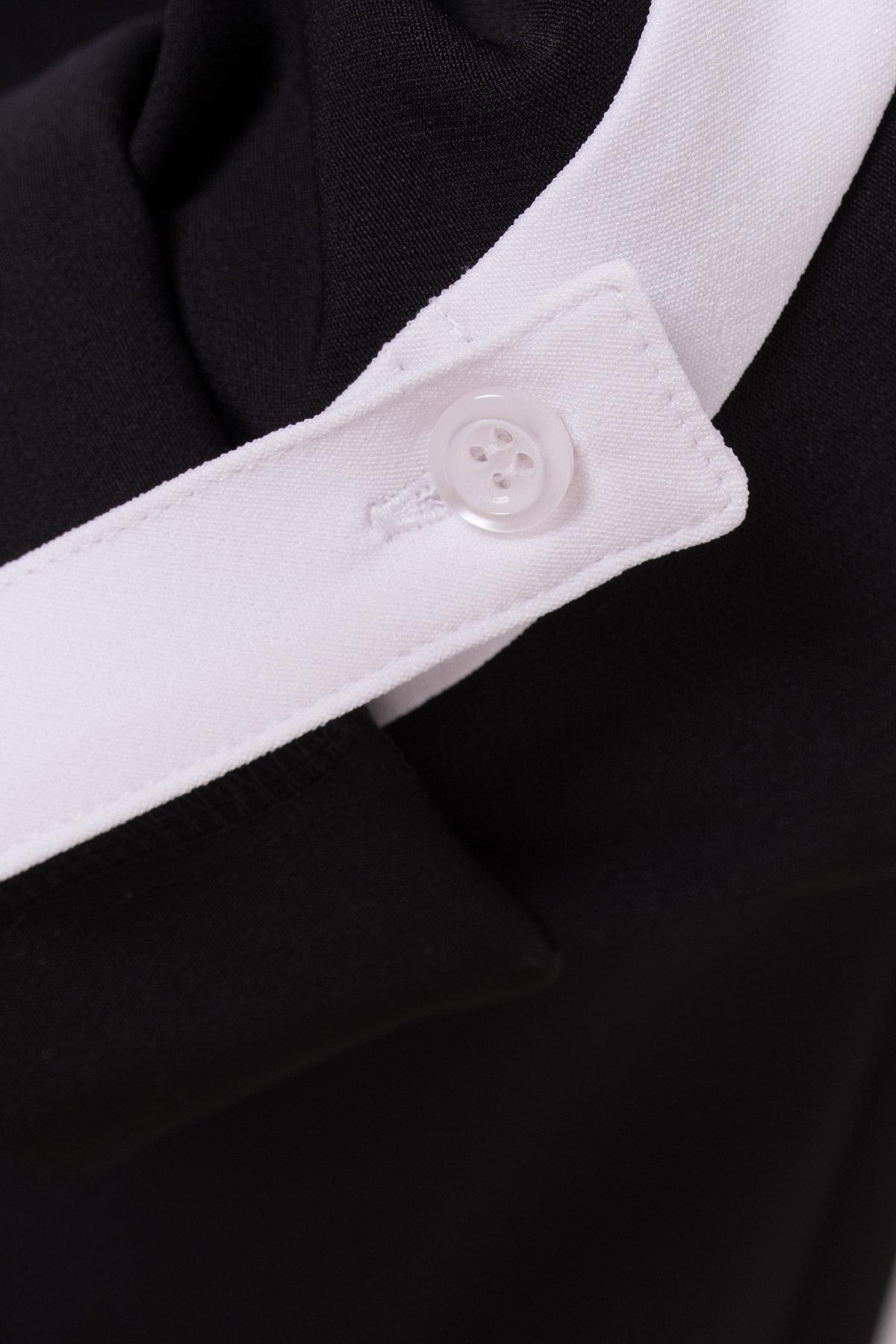 Жакет Макеба 3240 АРТ. 16683 Цвет: Черный/белый - фото 3, интернет магазин tm-modus.ru
