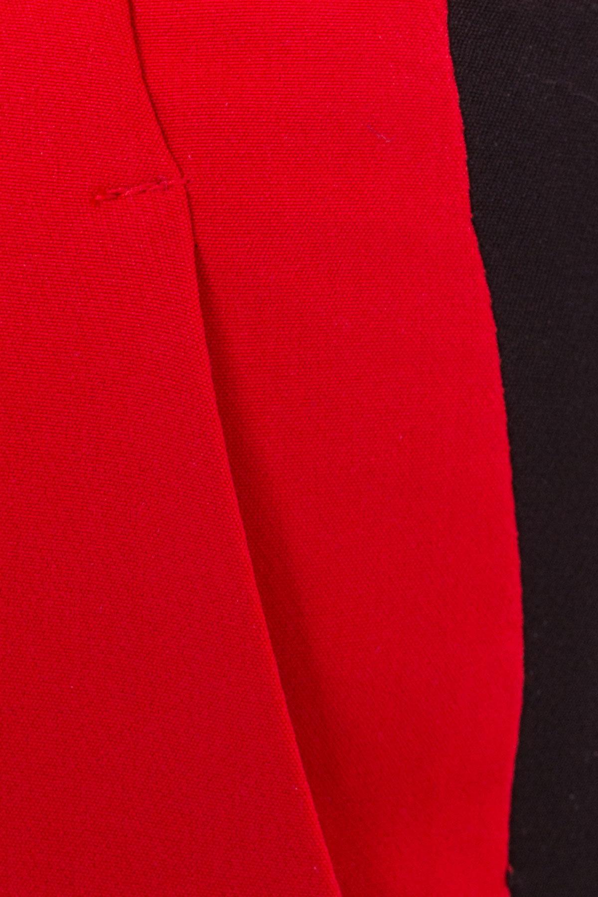 Брюки Макеба 3247 АРТ. 16723 Цвет: Красный/черный - фото 8, интернет магазин tm-modus.ru