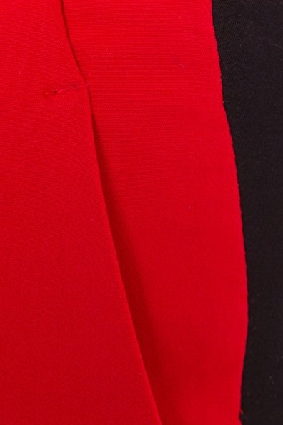 Брюки Макеба 3247 Цвет: Красный/черный