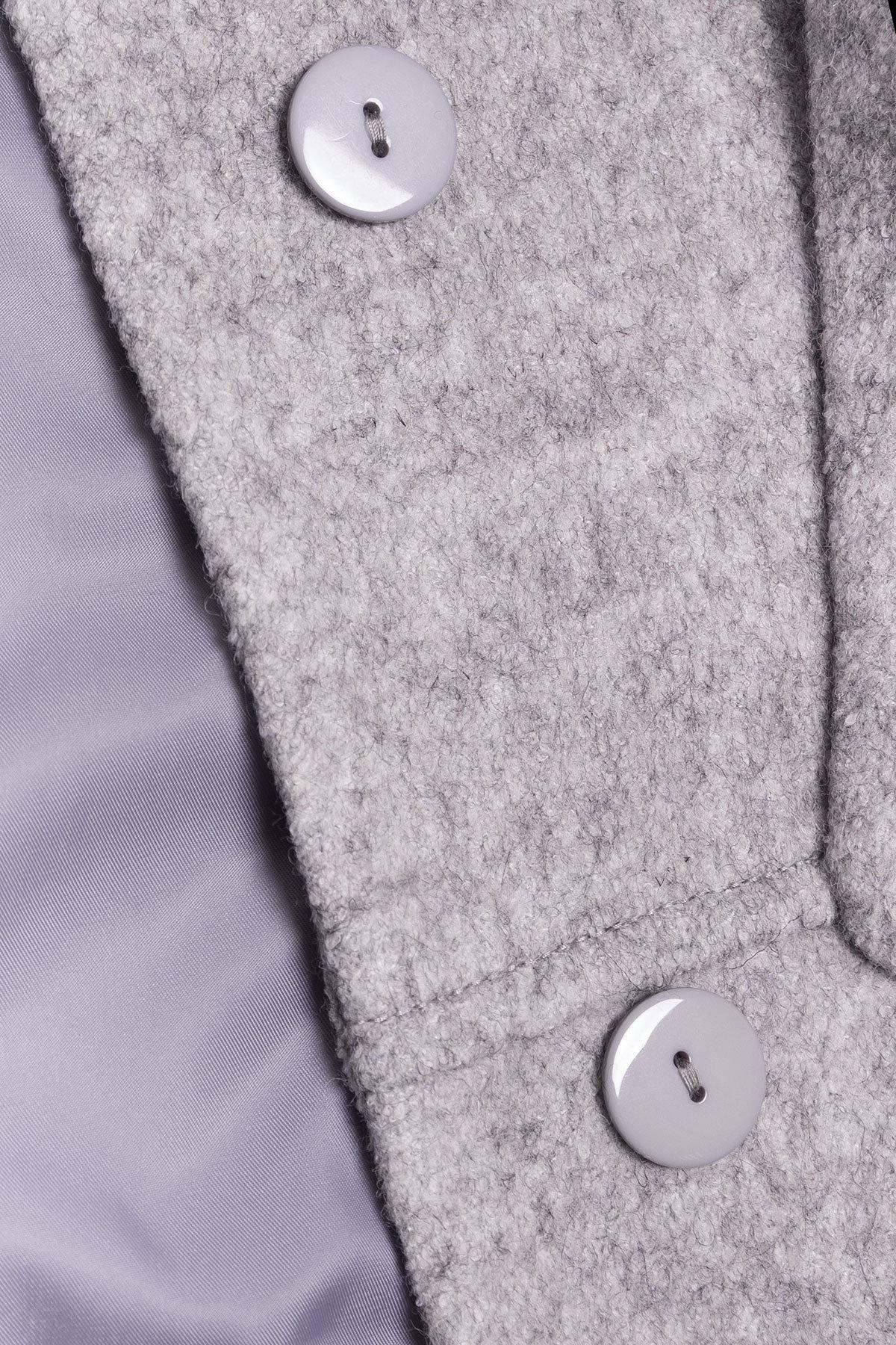 Пальто зима Анита 3466 Цвет: Серый 77