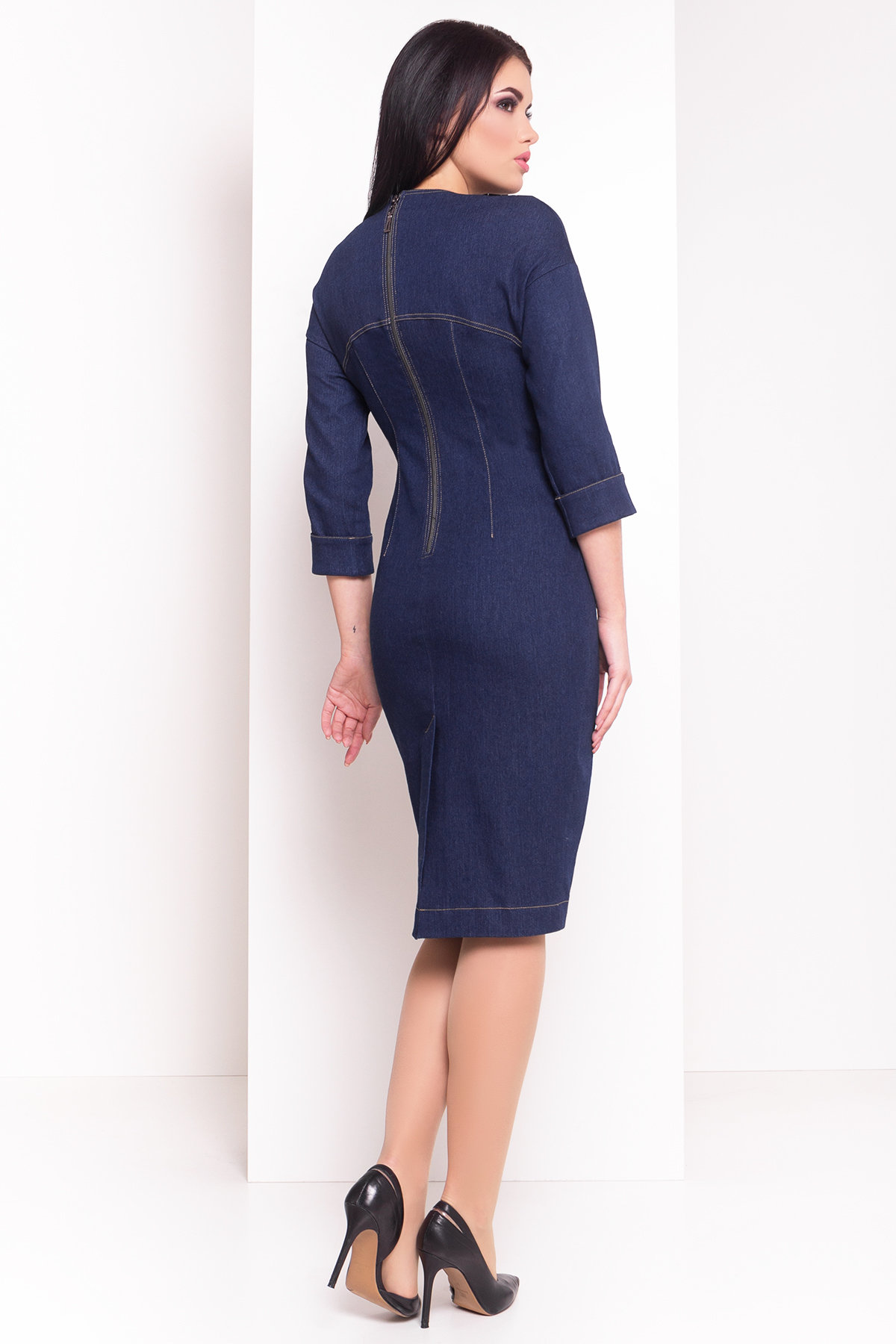 Платье Марио 3650 Цвет: Темно-синий