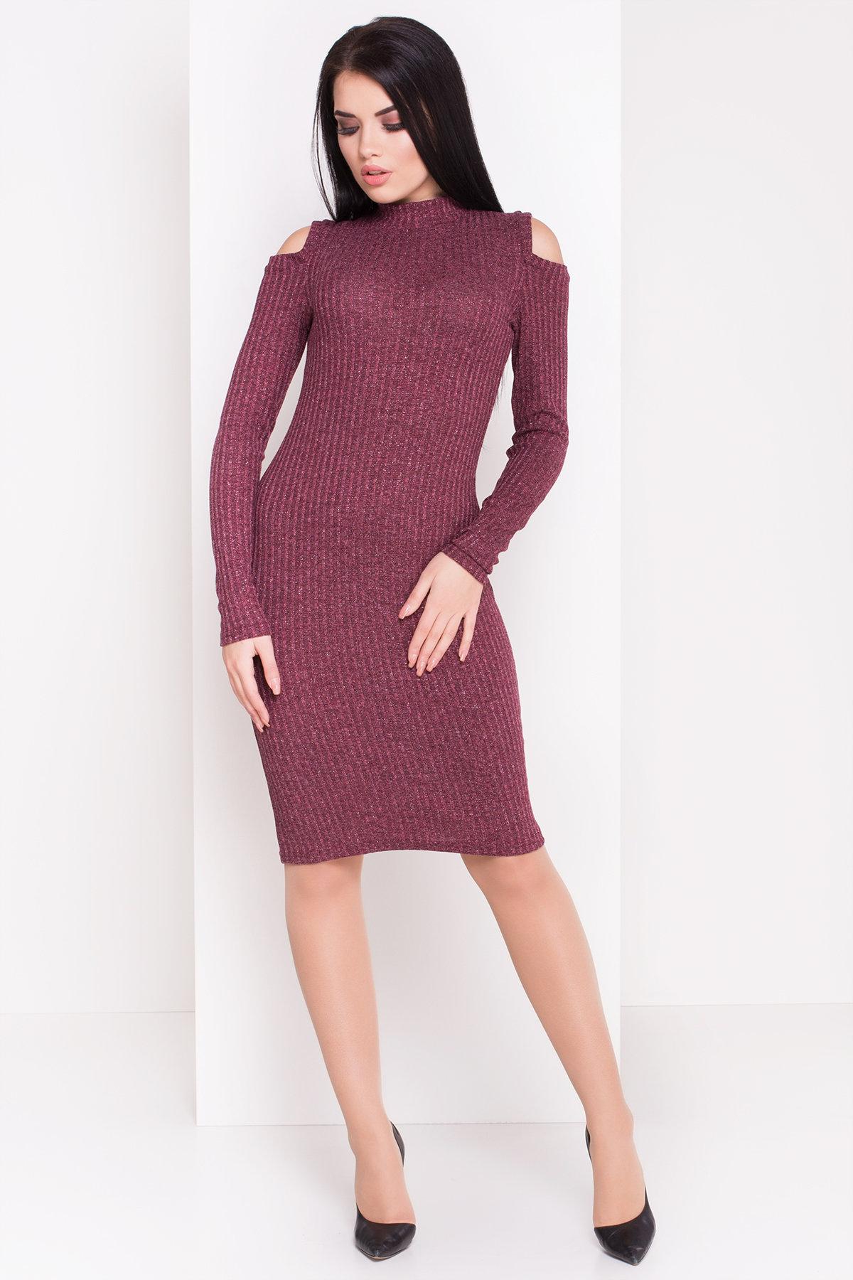 купить вязаные платья оптом Платье 77391