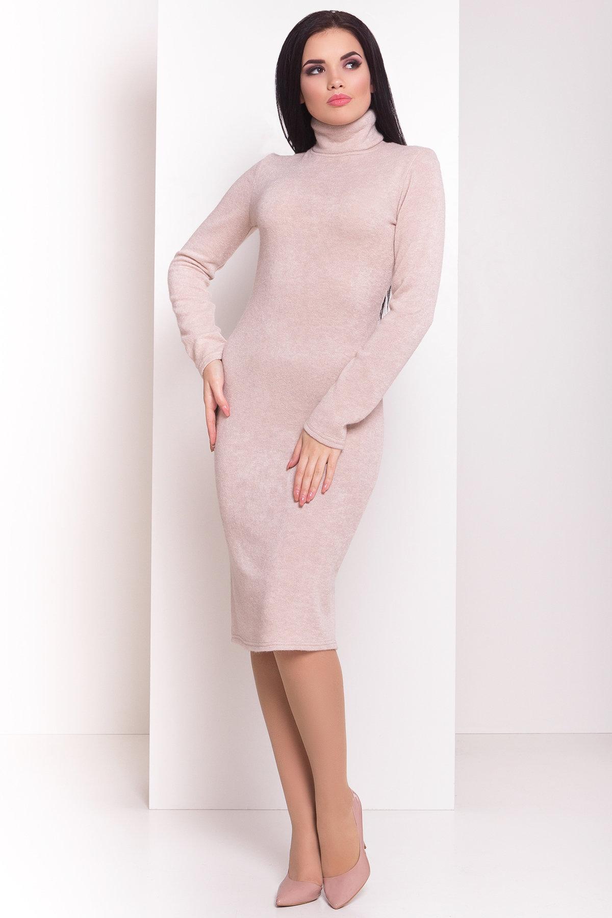 купить вязаные платья оптом Платье 77393
