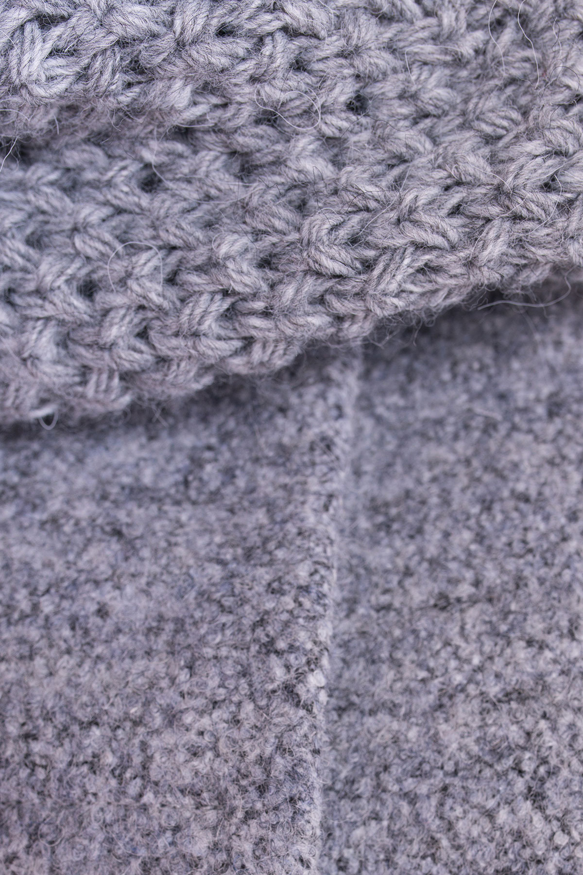 Пальто зима Нора 3607 Цвет: Серый 48