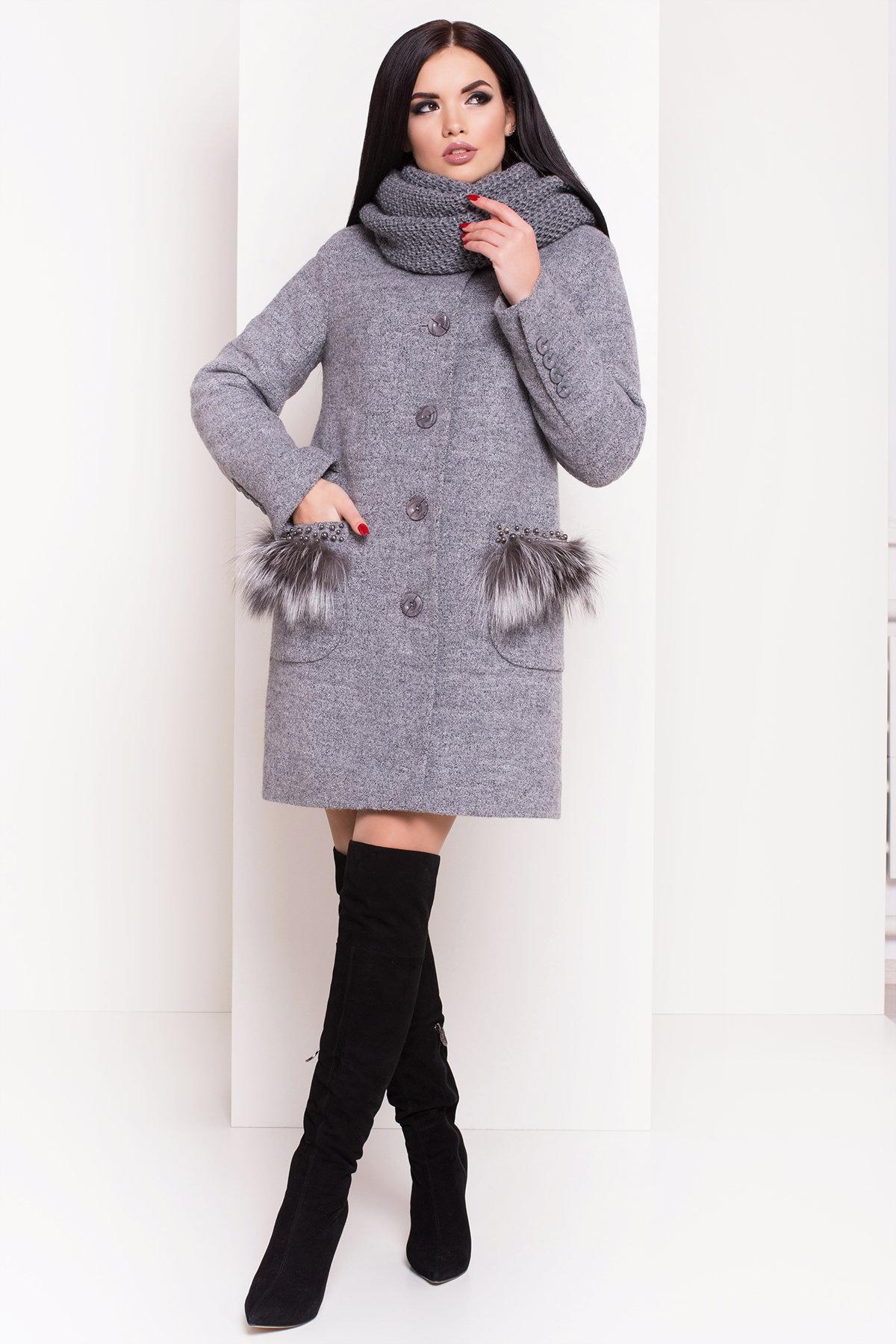 женское пальто недорого Пальто зима Этель 3692