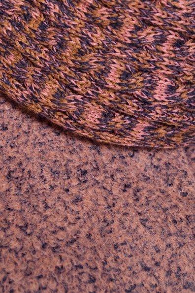 Пальто зима Луара Donna 3685 Цвет: Какао/темно-синий