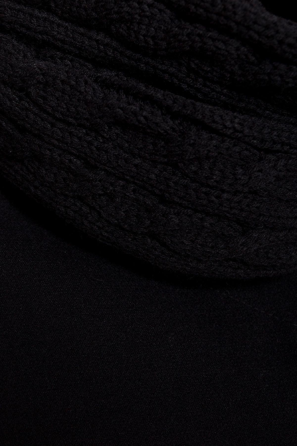 Пальто зима Фортуна 4581 Цвет: Черный