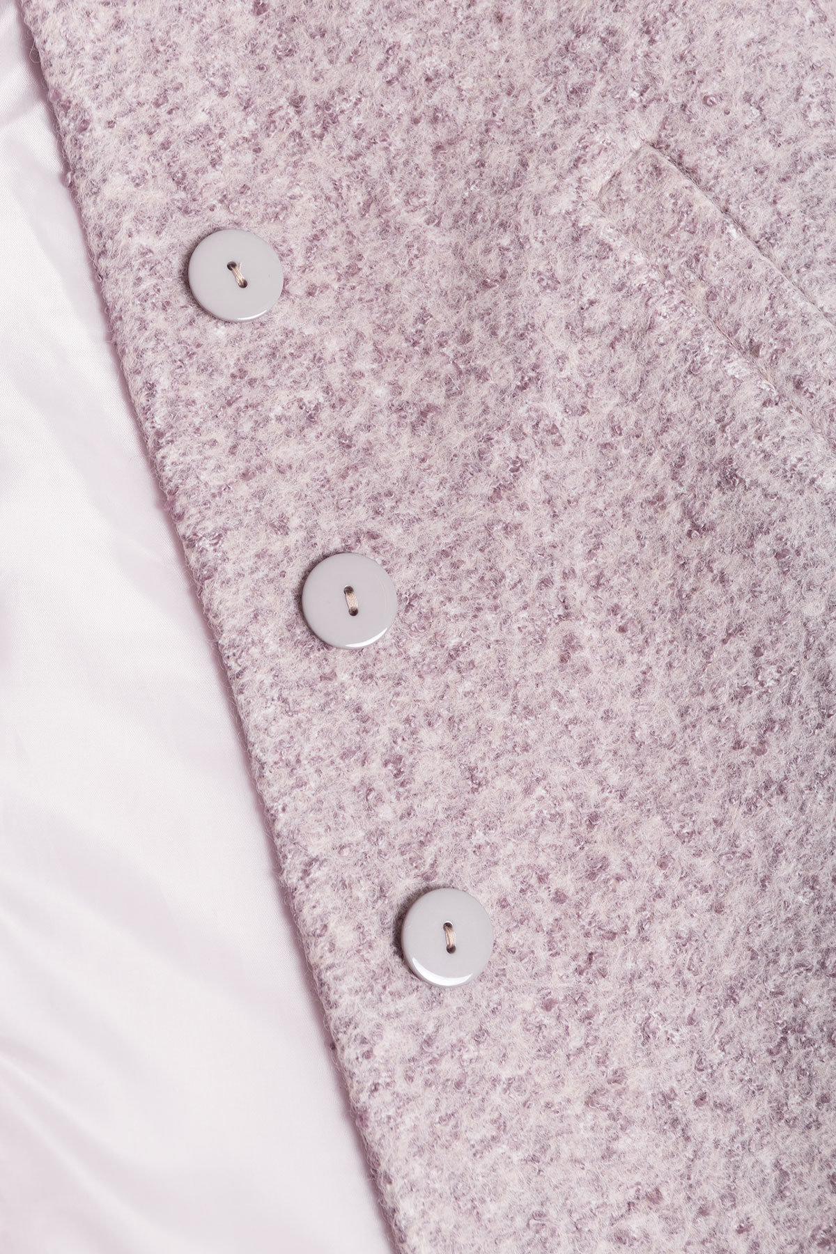 Пальто зима Фортуна 0574 Цвет: Серый/бежевый