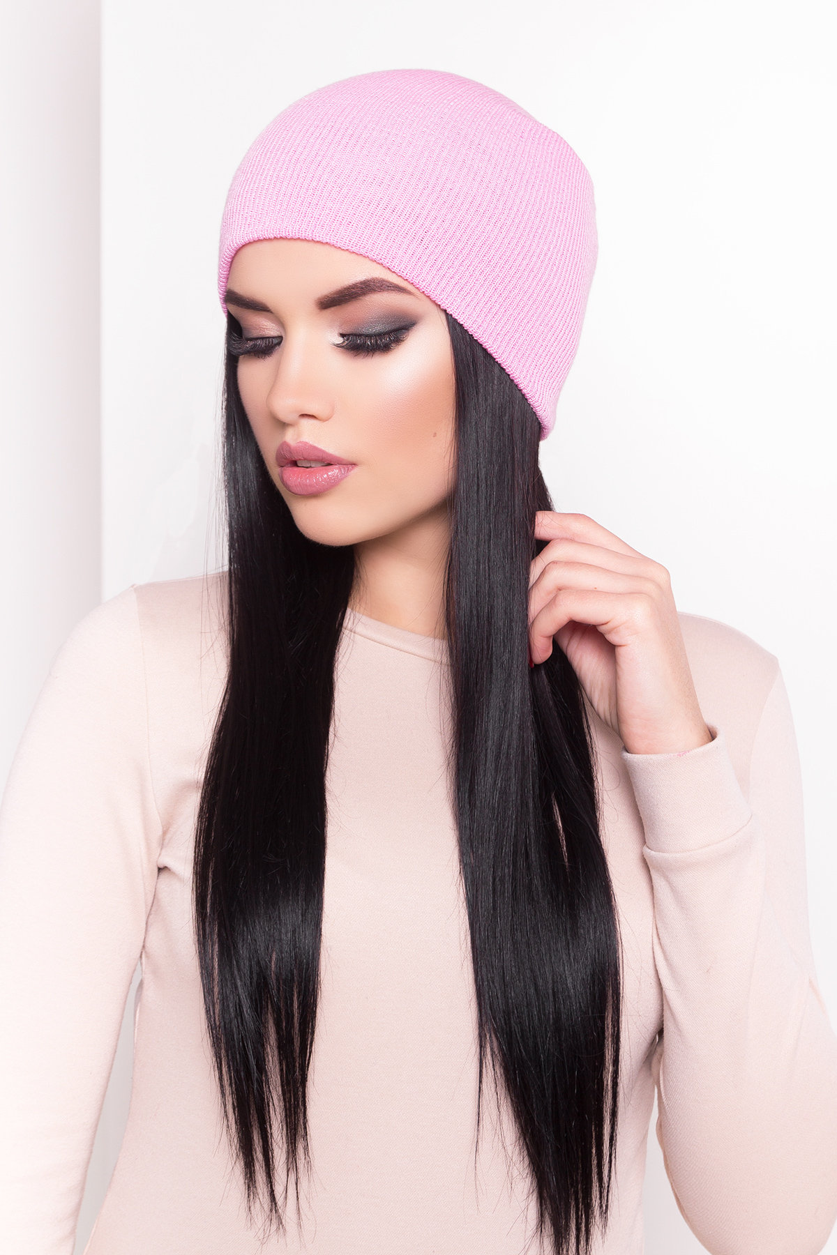 купить женскую зимнюю шапку в Украине Шапка Ультра 3858