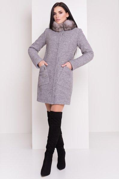 Пальто Габи 3602 Цвет: Серый светлый LW-10