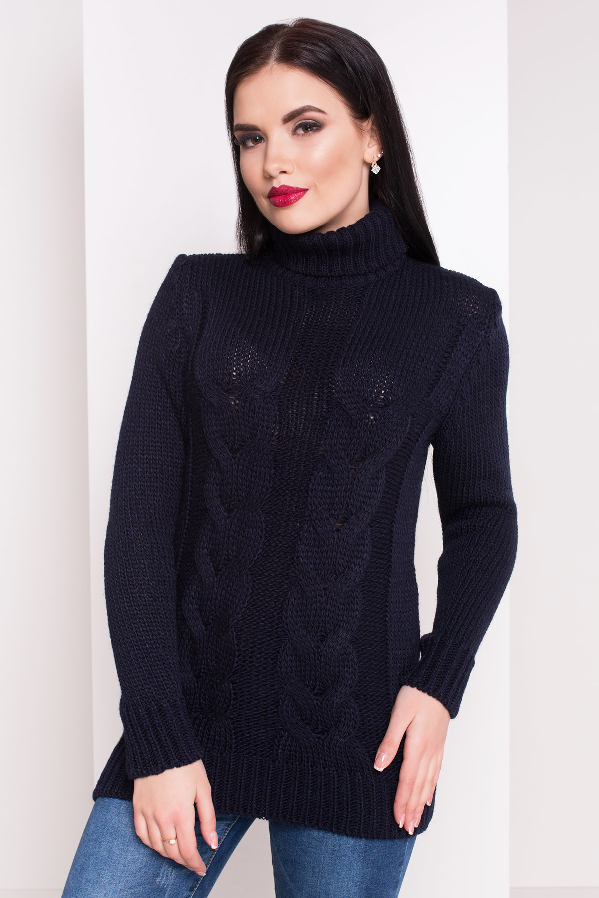 вязаные свитера для девушек Свитер Эдж 1562