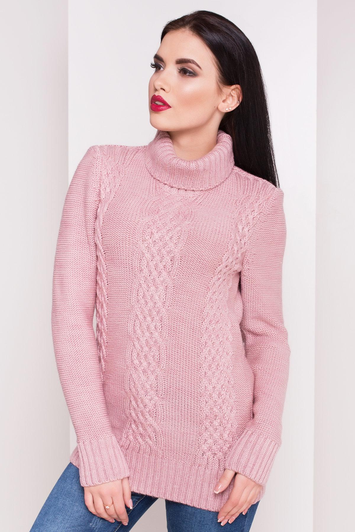 Свитер Эдж 1714 Цвет: Розовый/Сиреневый
