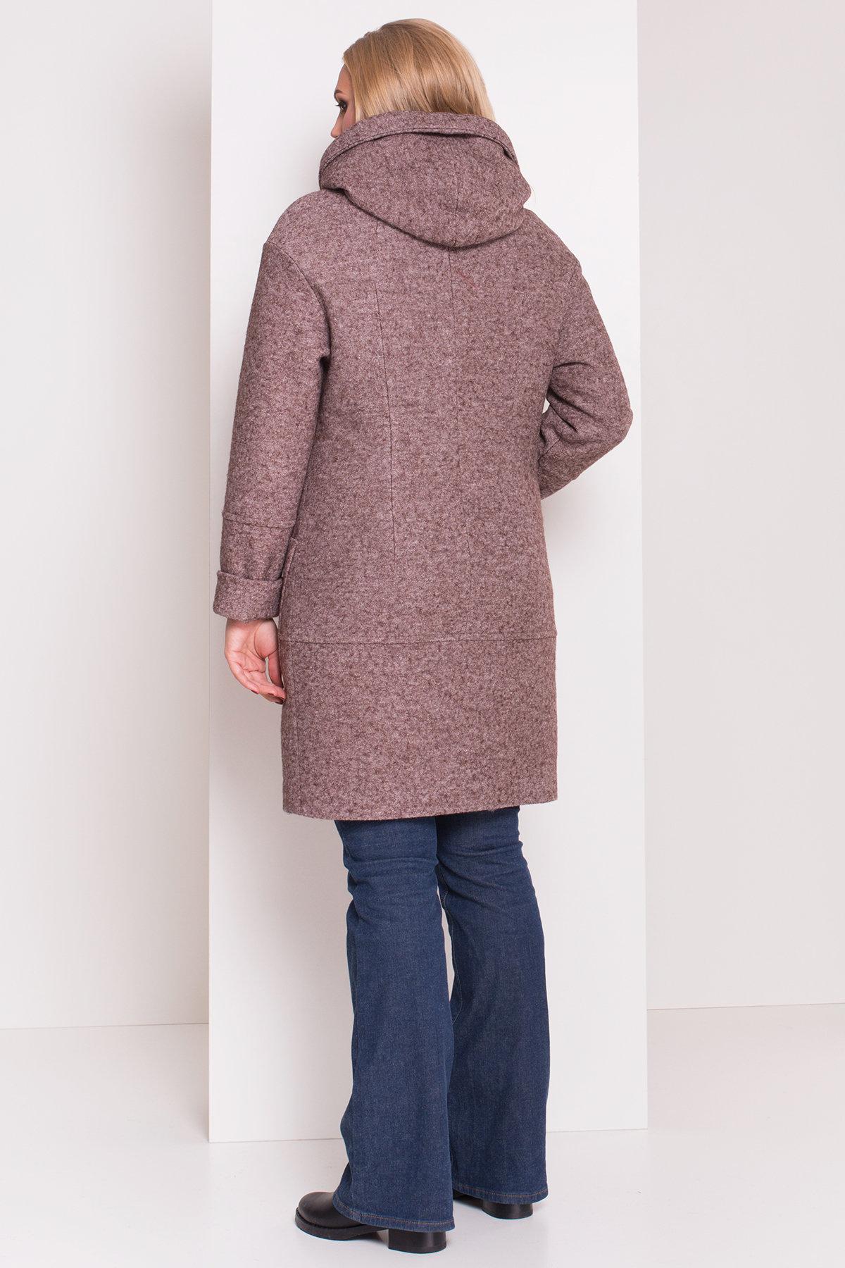 Пальто зима с капюшоном Анита Donna 3720 АРТ. 19287 Цвет: Кофе LW-4 - фото 4, интернет магазин tm-modus.ru