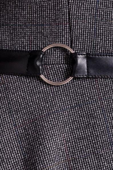 Платье Сафо 3693 Цвет: Черный/серый