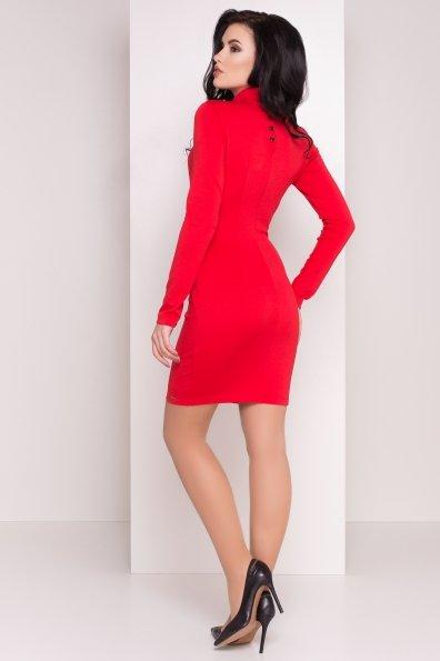 Платье Терция джерси Цвет: Красный