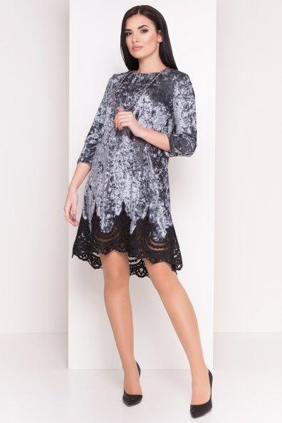Платье Валери 4190 Цвет: Серый