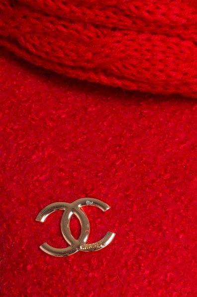 Зимнее пальто шерсть-букле Сан-Ремо 0939 Цвет: Красный